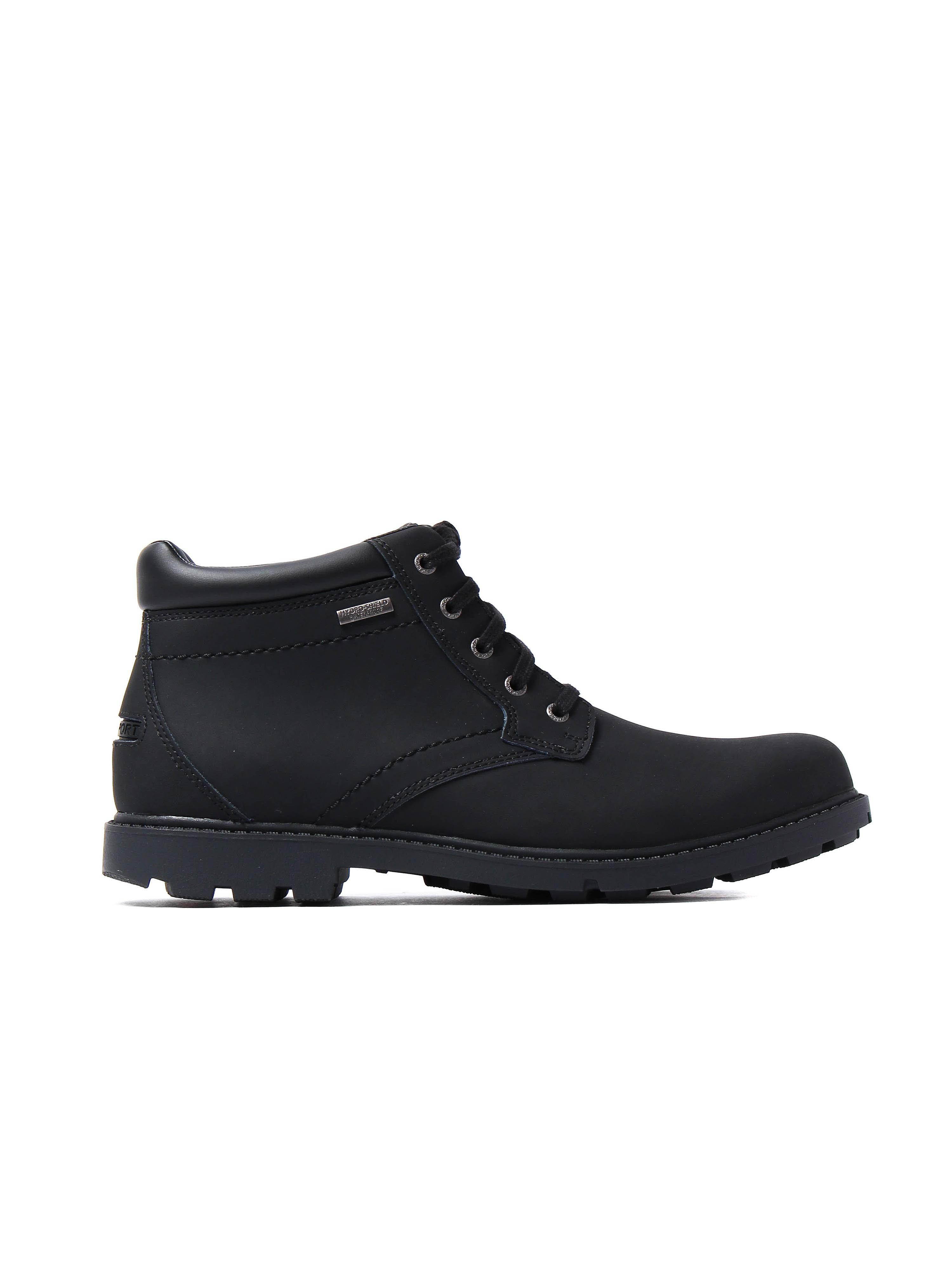Rockport Men's Surge Storm Boots - Black Leather