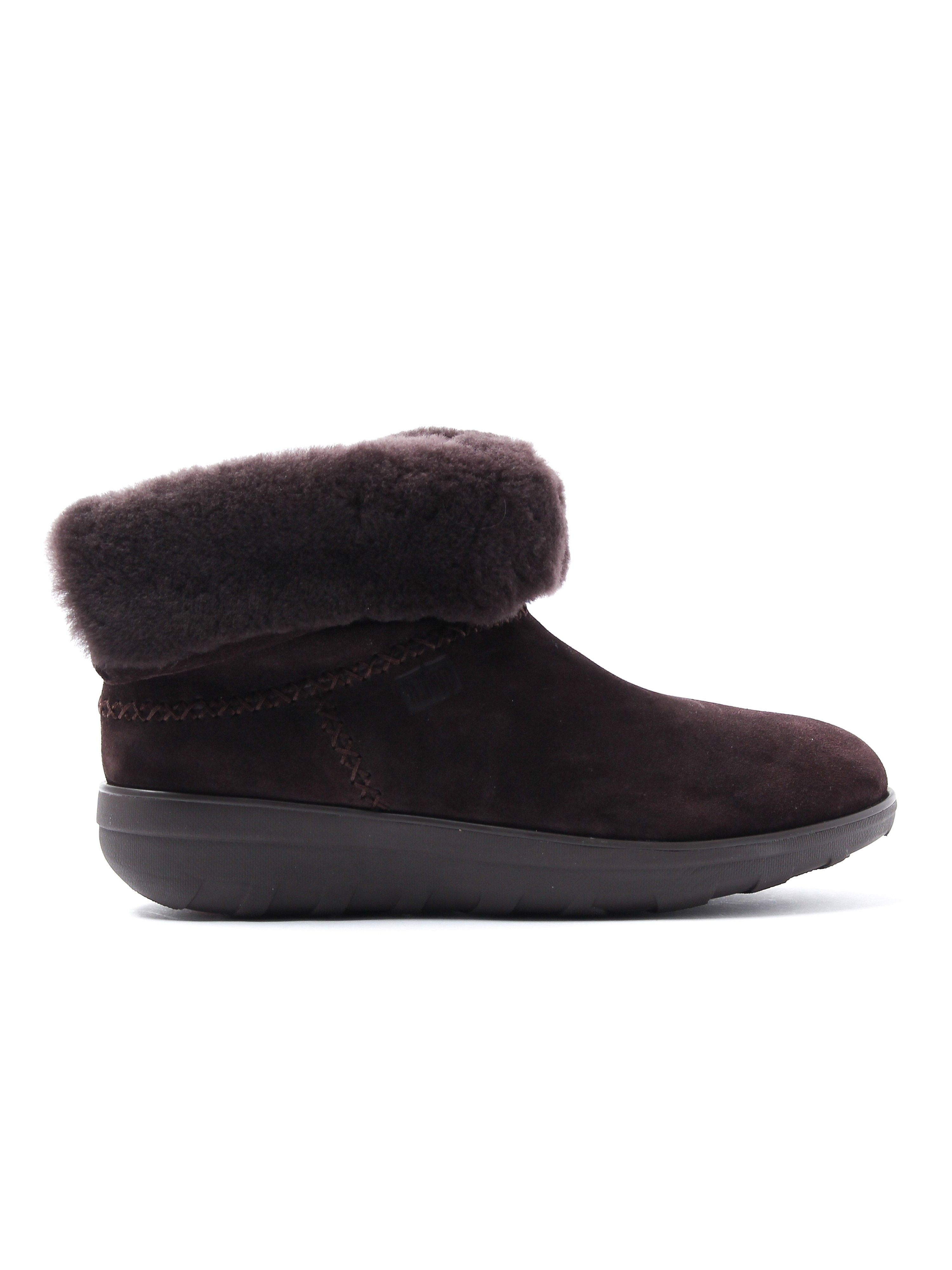 FitFlop Women's Shorty 2 Boots - Chocolate Suede