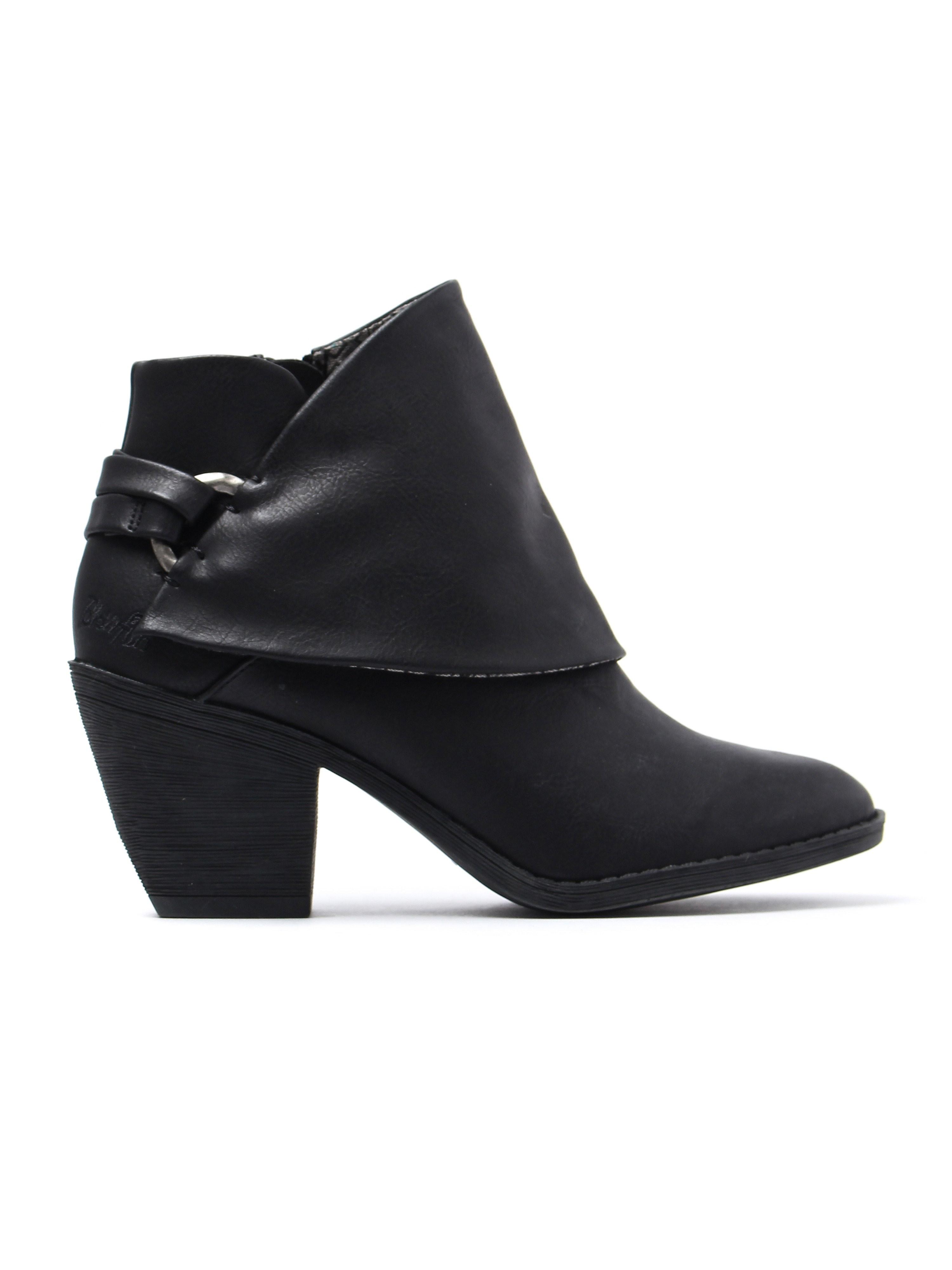 Blowfish Women's Super Duper Ankle Boots - Black Lonestar