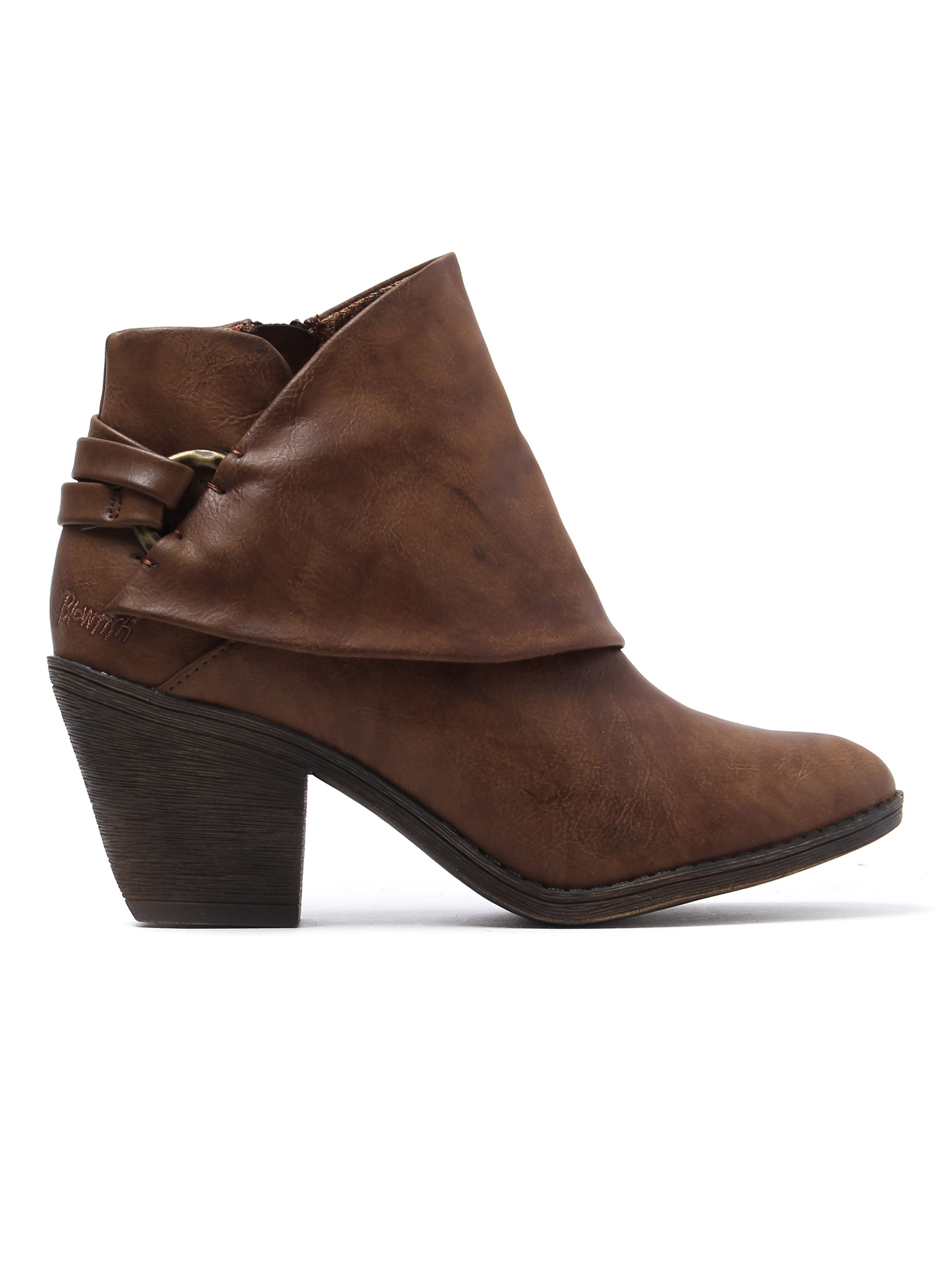 Blowfish Women's Super Duper Ankle Boots - Whiskey Lonestar