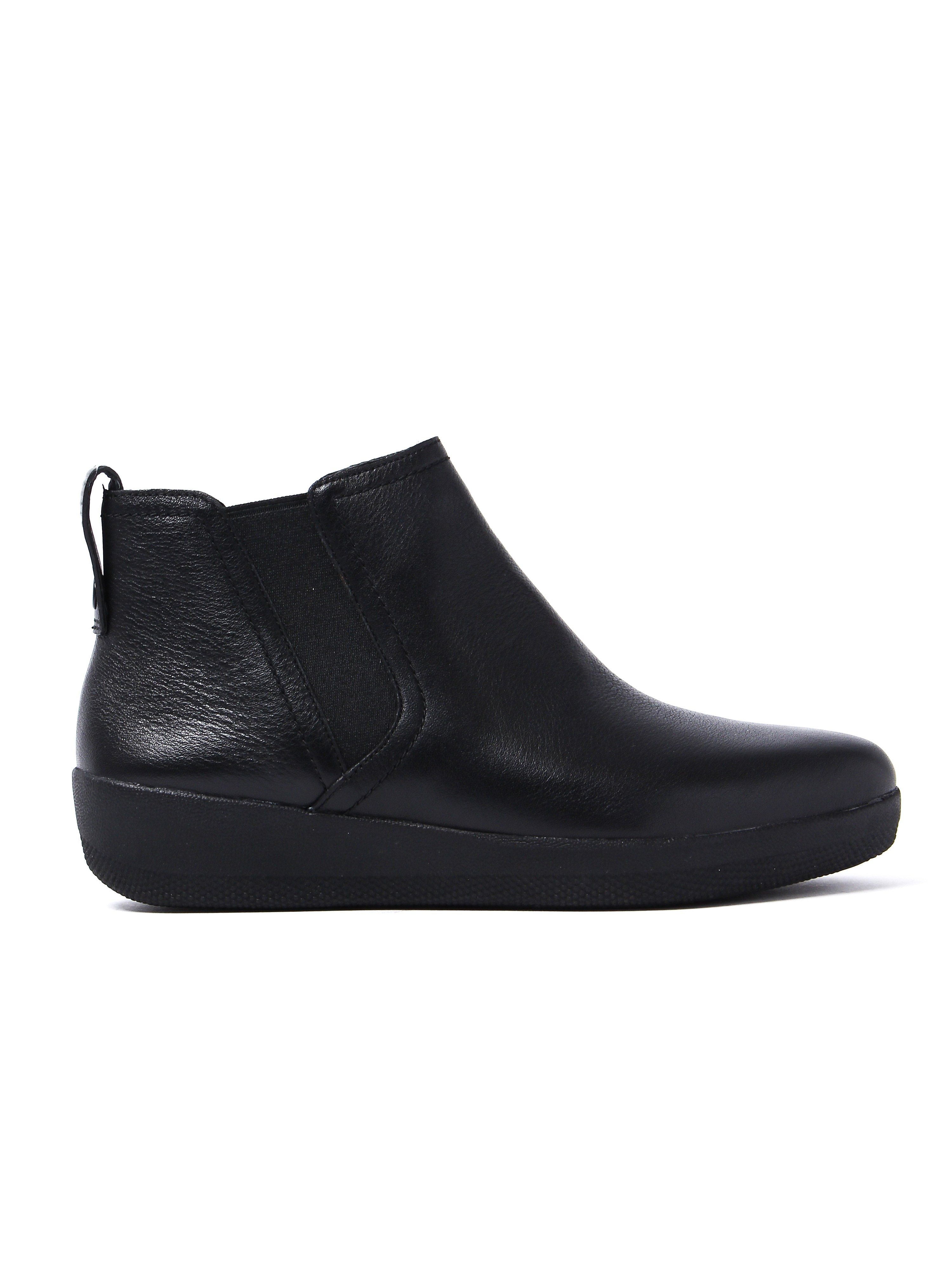 FitFlop Women's Superchelsea Boots - Black Leather