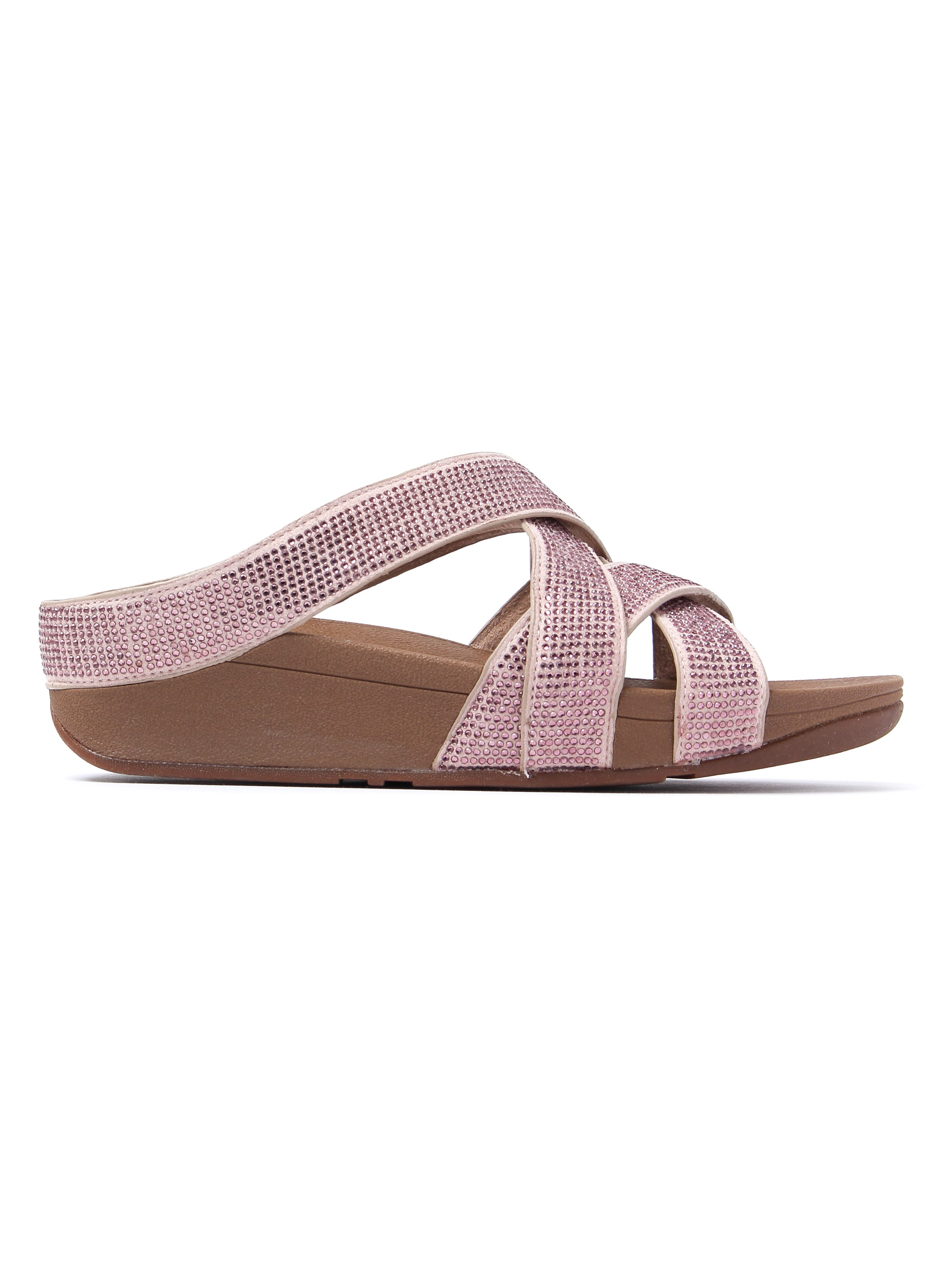 FitFlop Women's Slinky Rokkit Slide Sandals - Nude