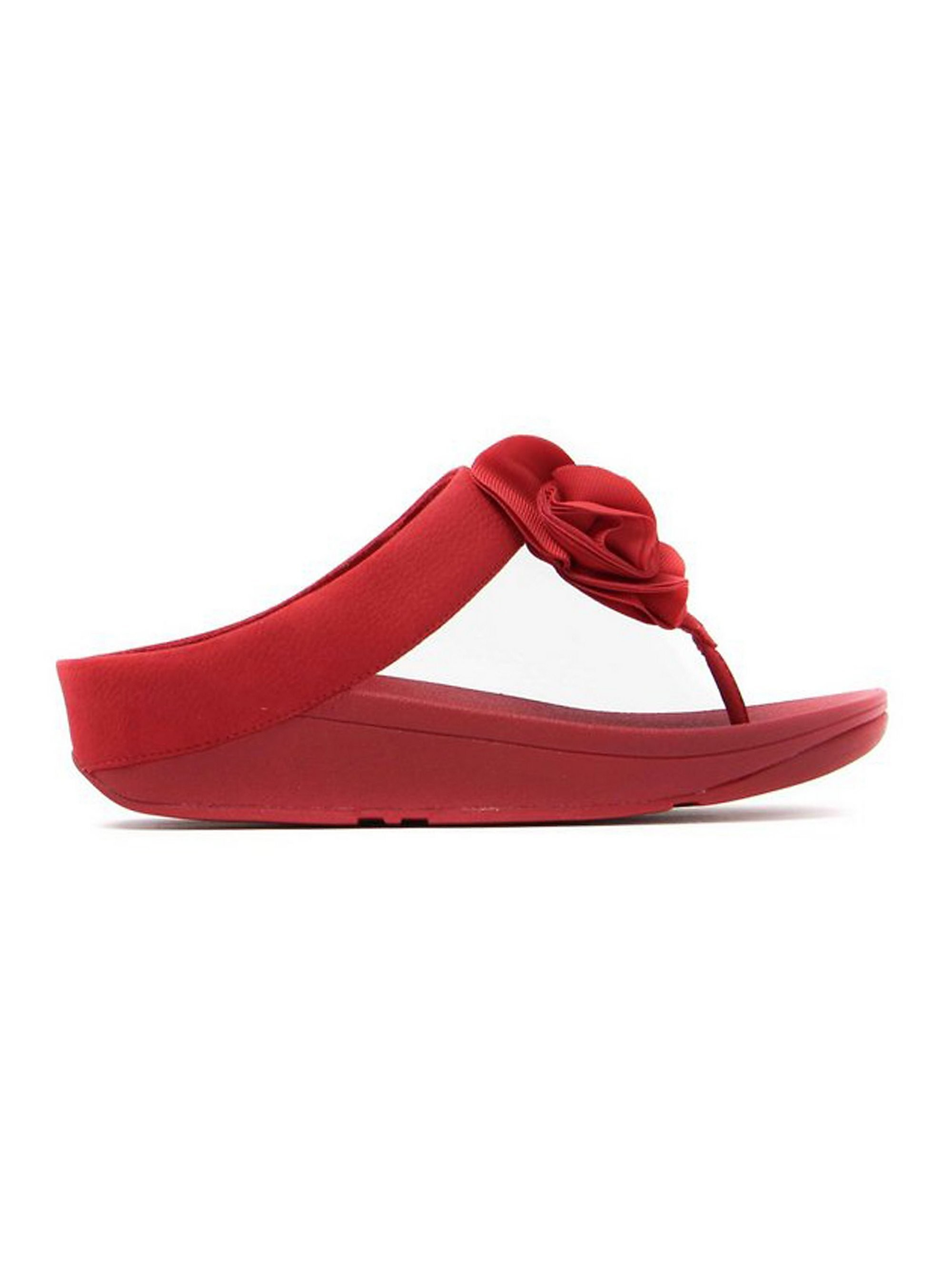 FitFlop Women's Florrie Toe-Post Sandals - Red