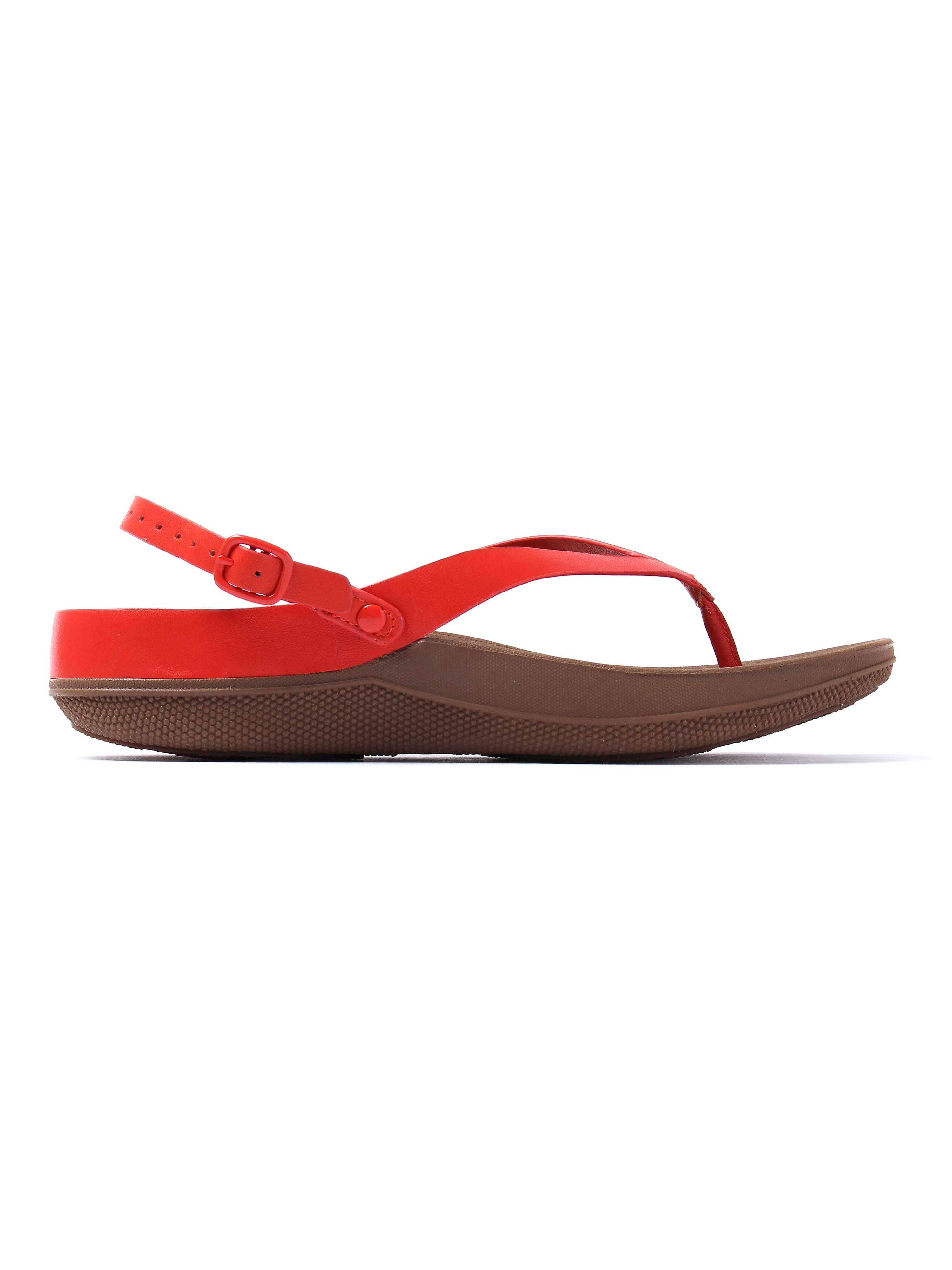 FitFlop Women's Flip Toe-Post Sandals - Flame Leather