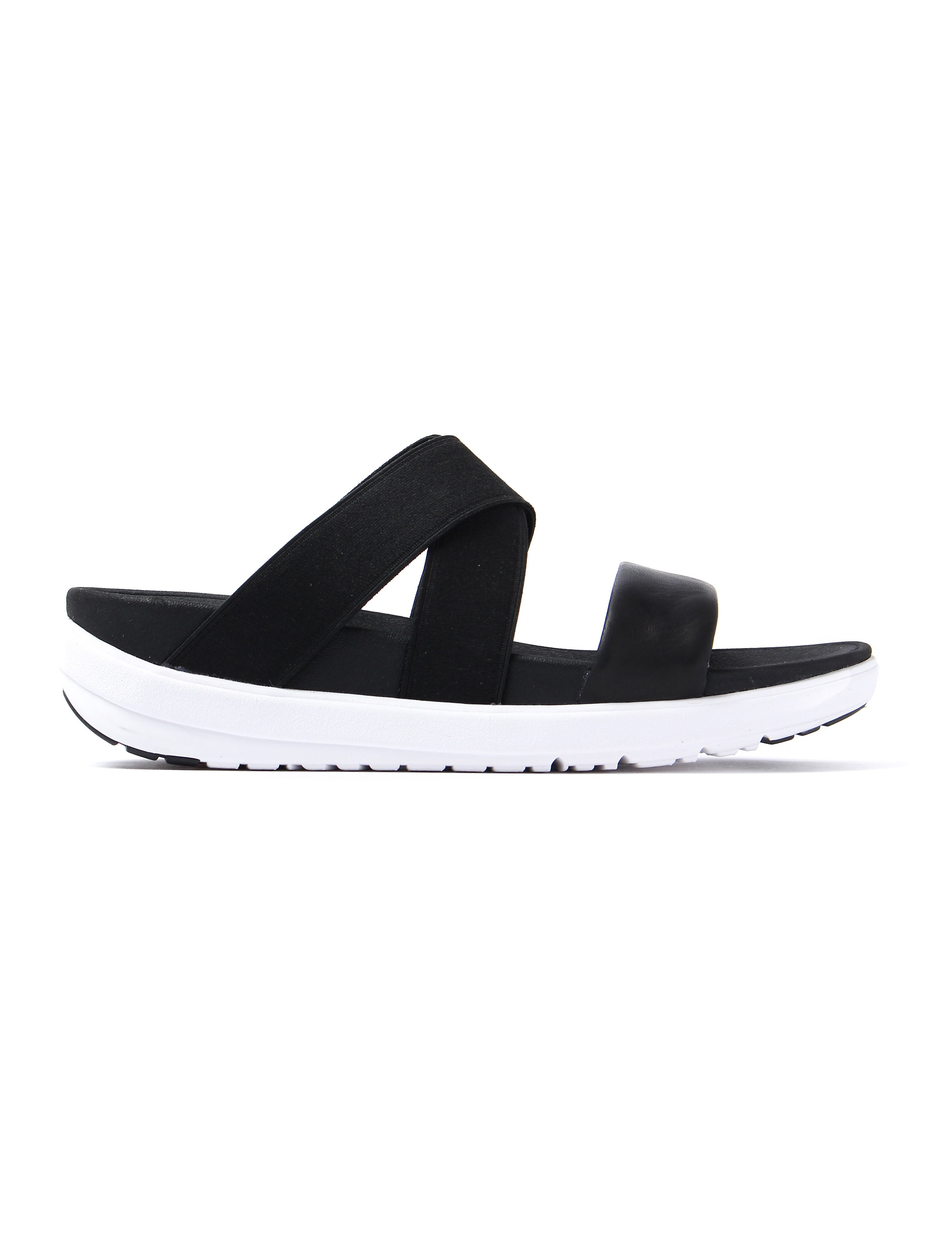 FitFlop Women's Loosh Crossover Sandals - Black