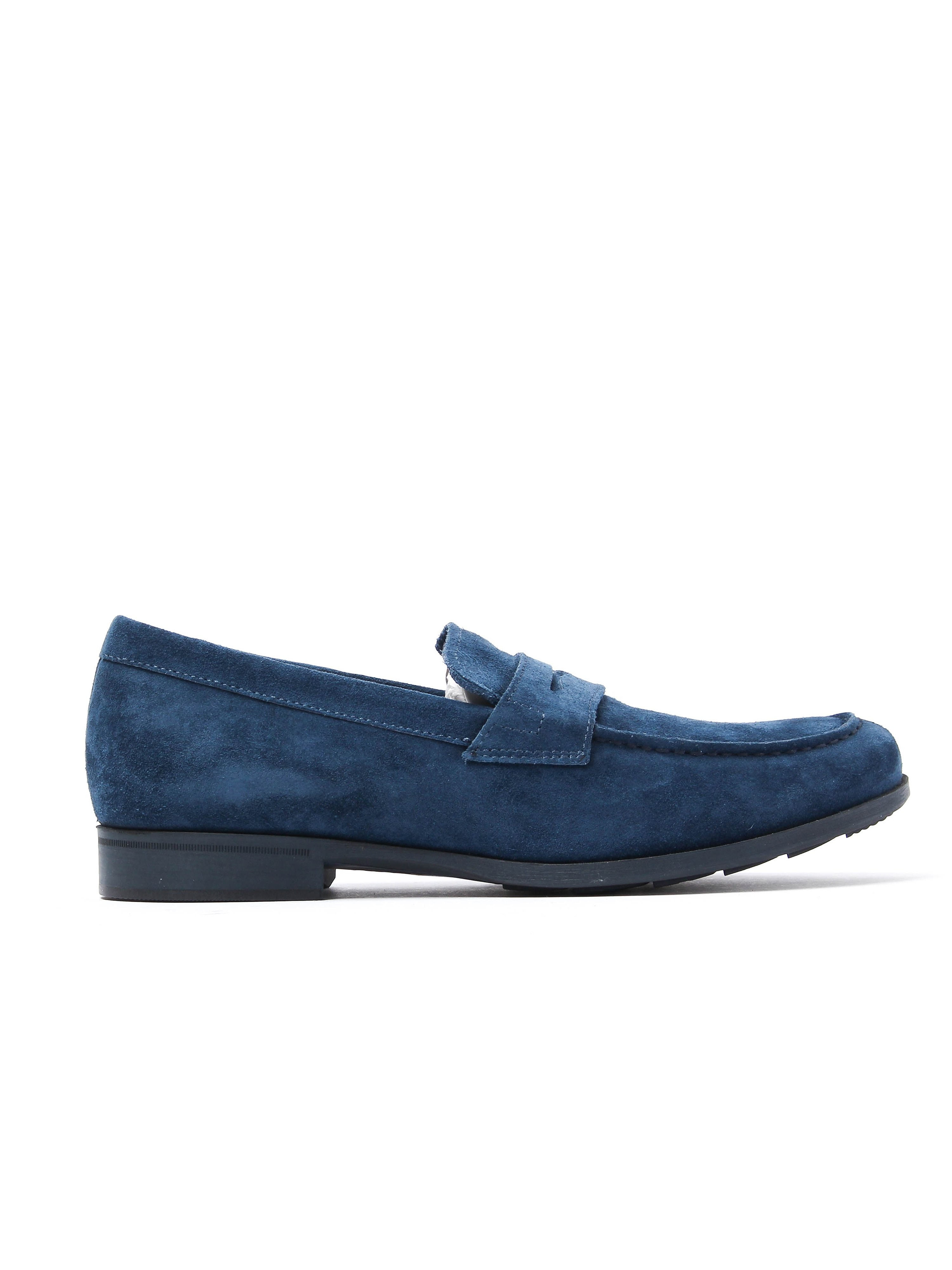 Geox Men's U Besmington Loafers - Ocean Suede