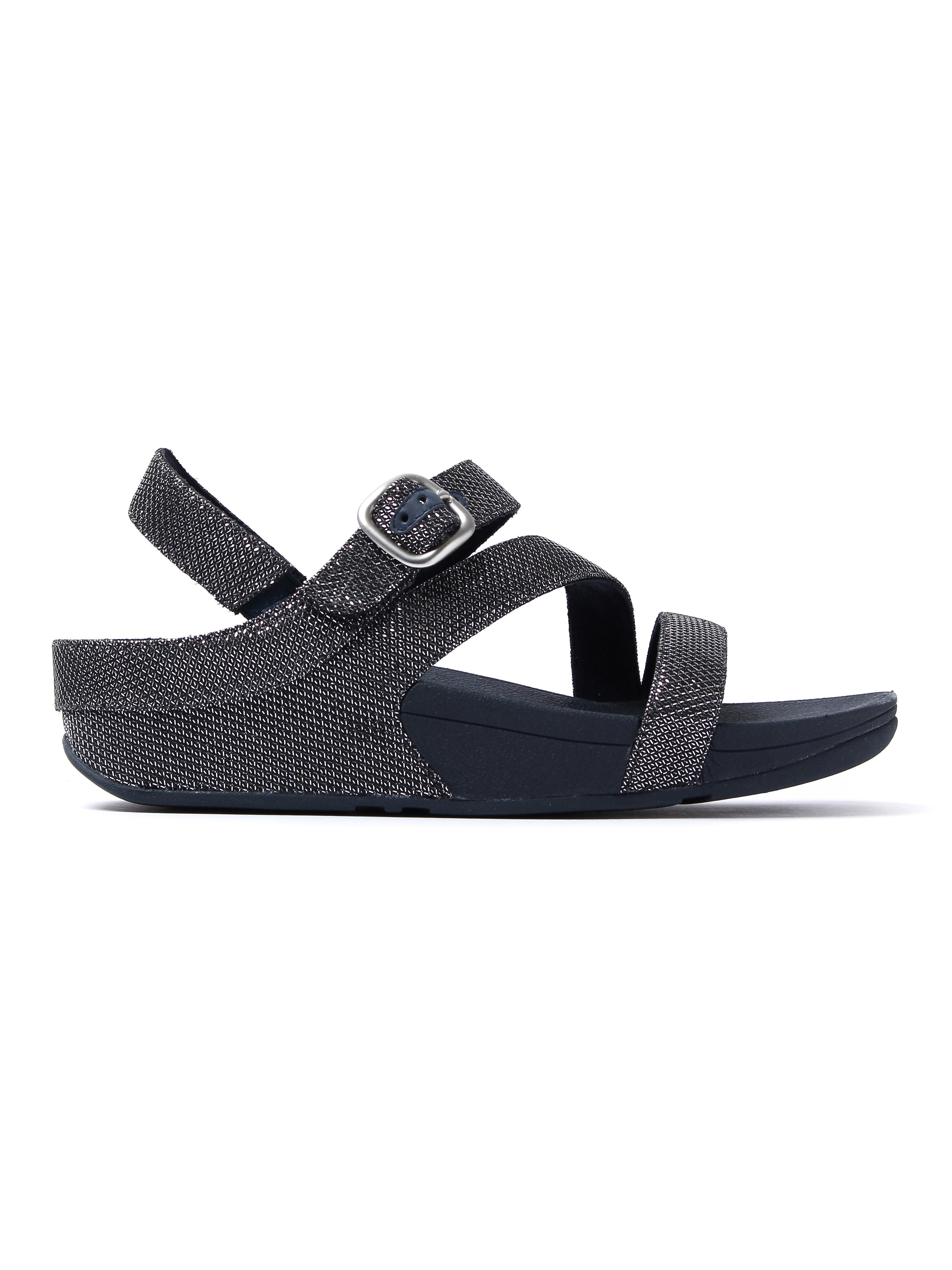 FitFlop Women's The Skinny Sparkle Z-Strap Sandals - Supernavy