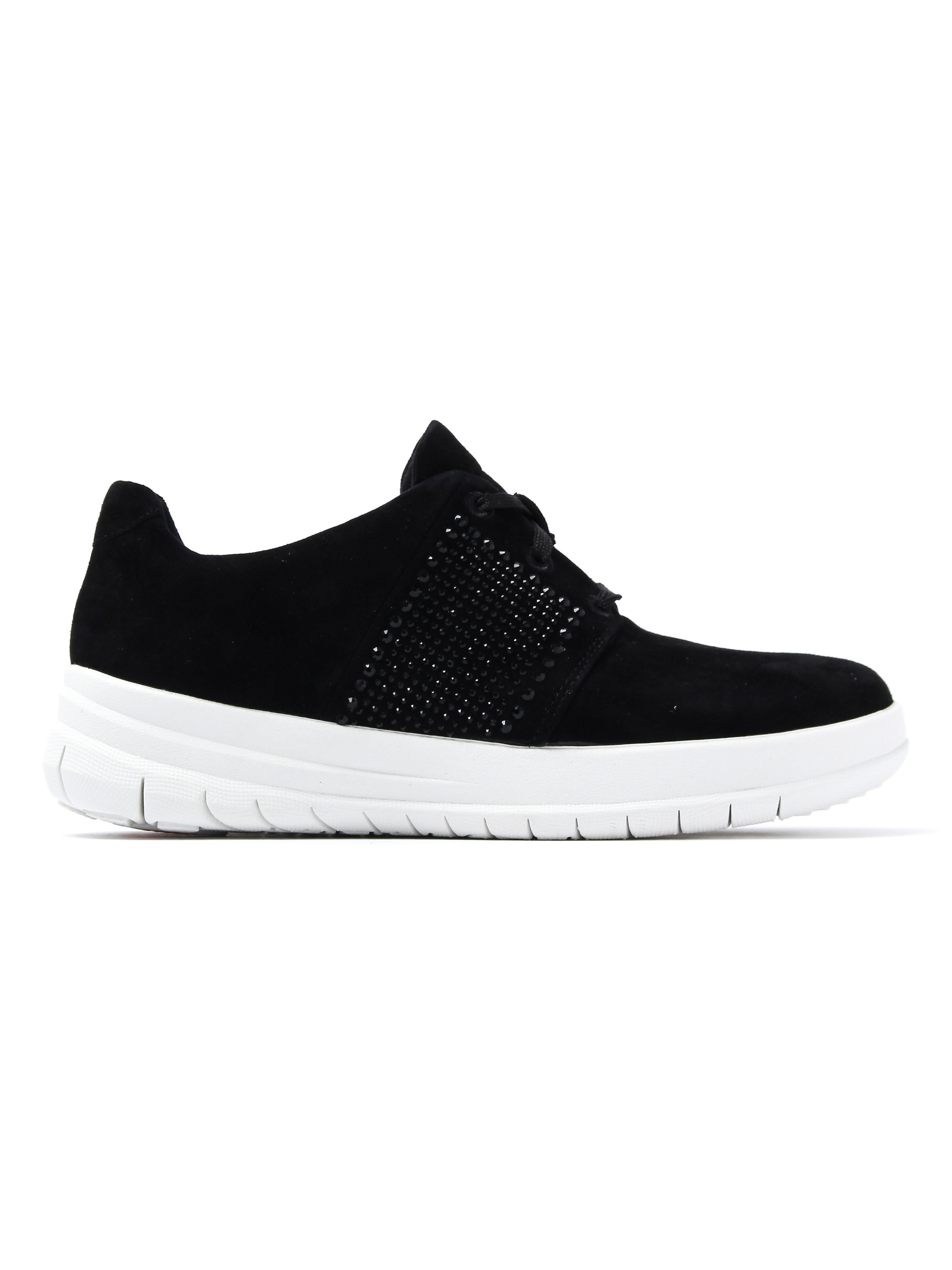 FitFlop Women's Sporty-Pop X-Crystal Trainers - Black