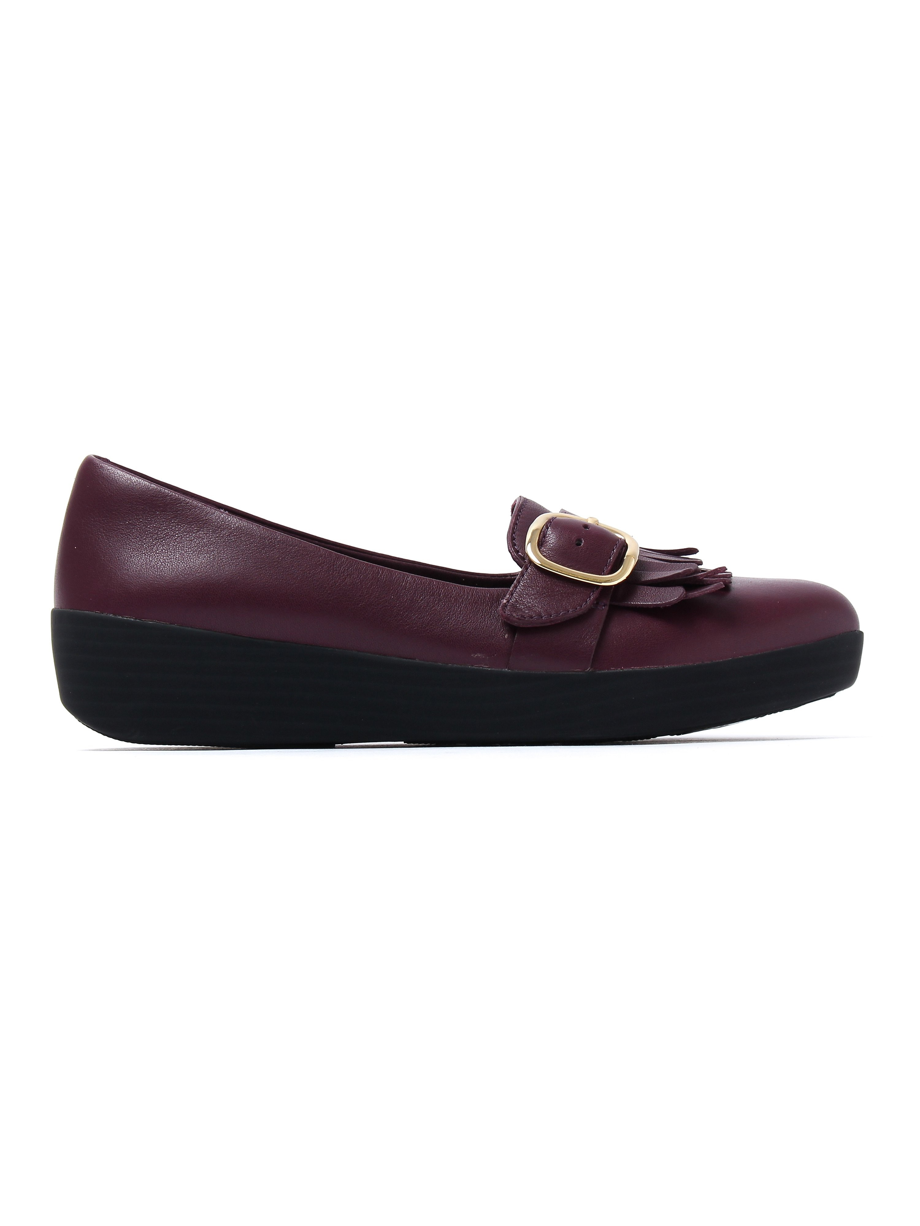 FitFlop Women's Buckle Sneakerloafers - Deep Plum