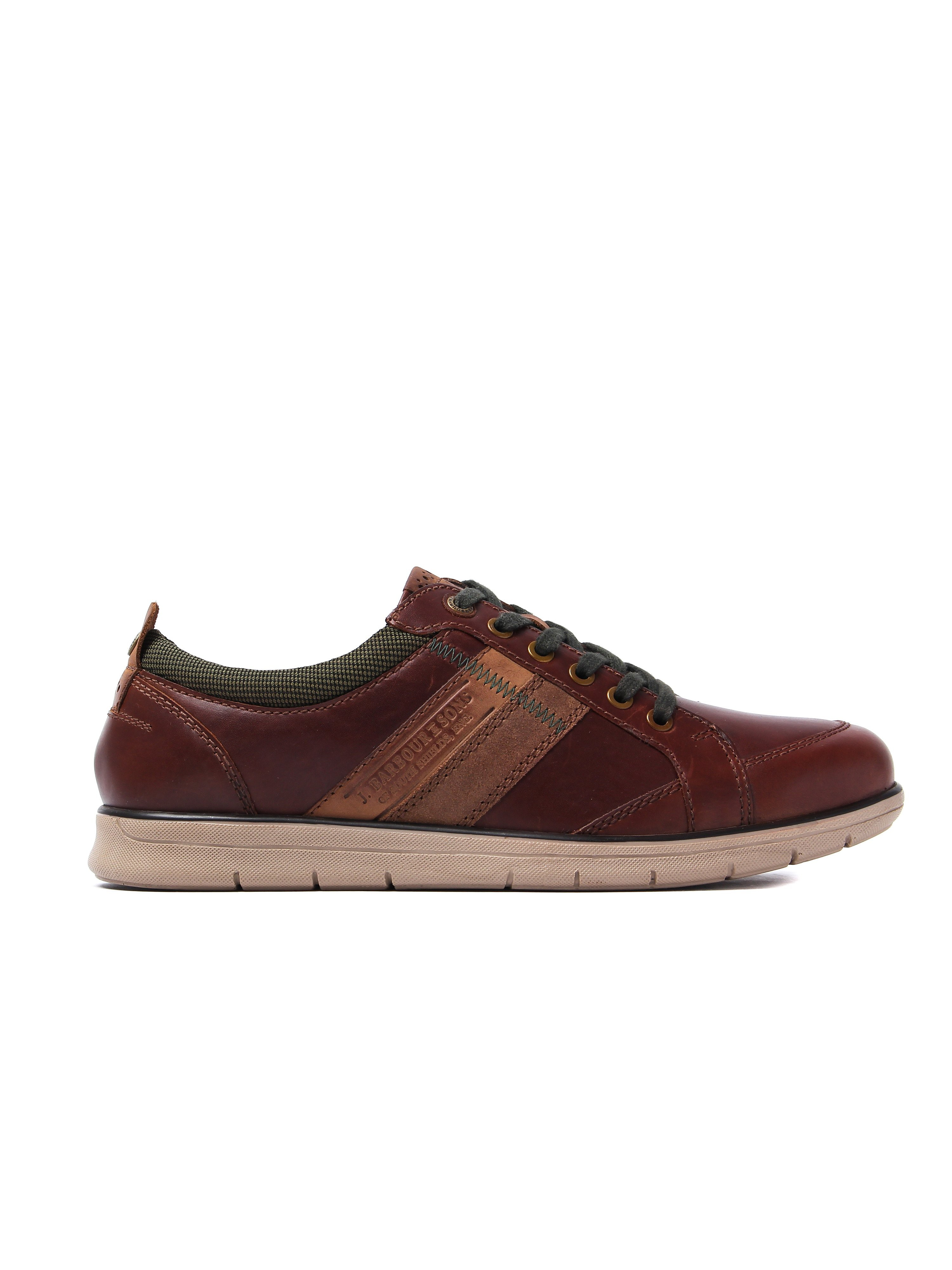 Barbour Men's Casual Shoes - Tan Leather