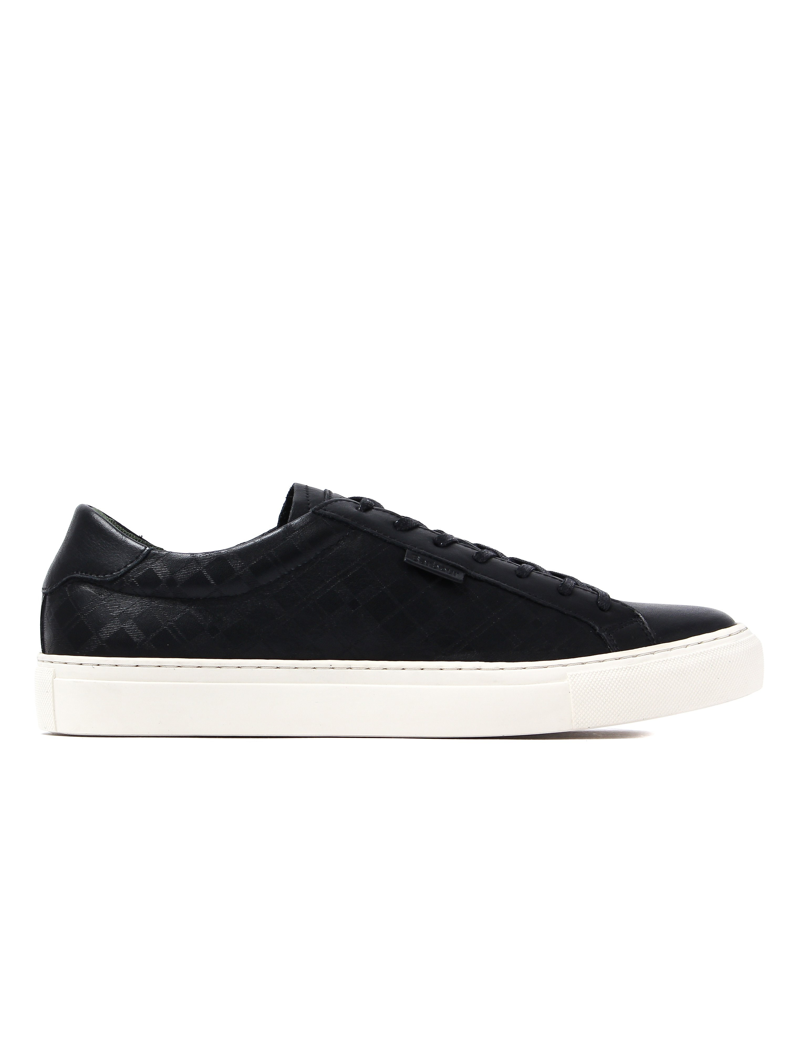 Barbour Men's Tynemouth Trainers - Black Leather