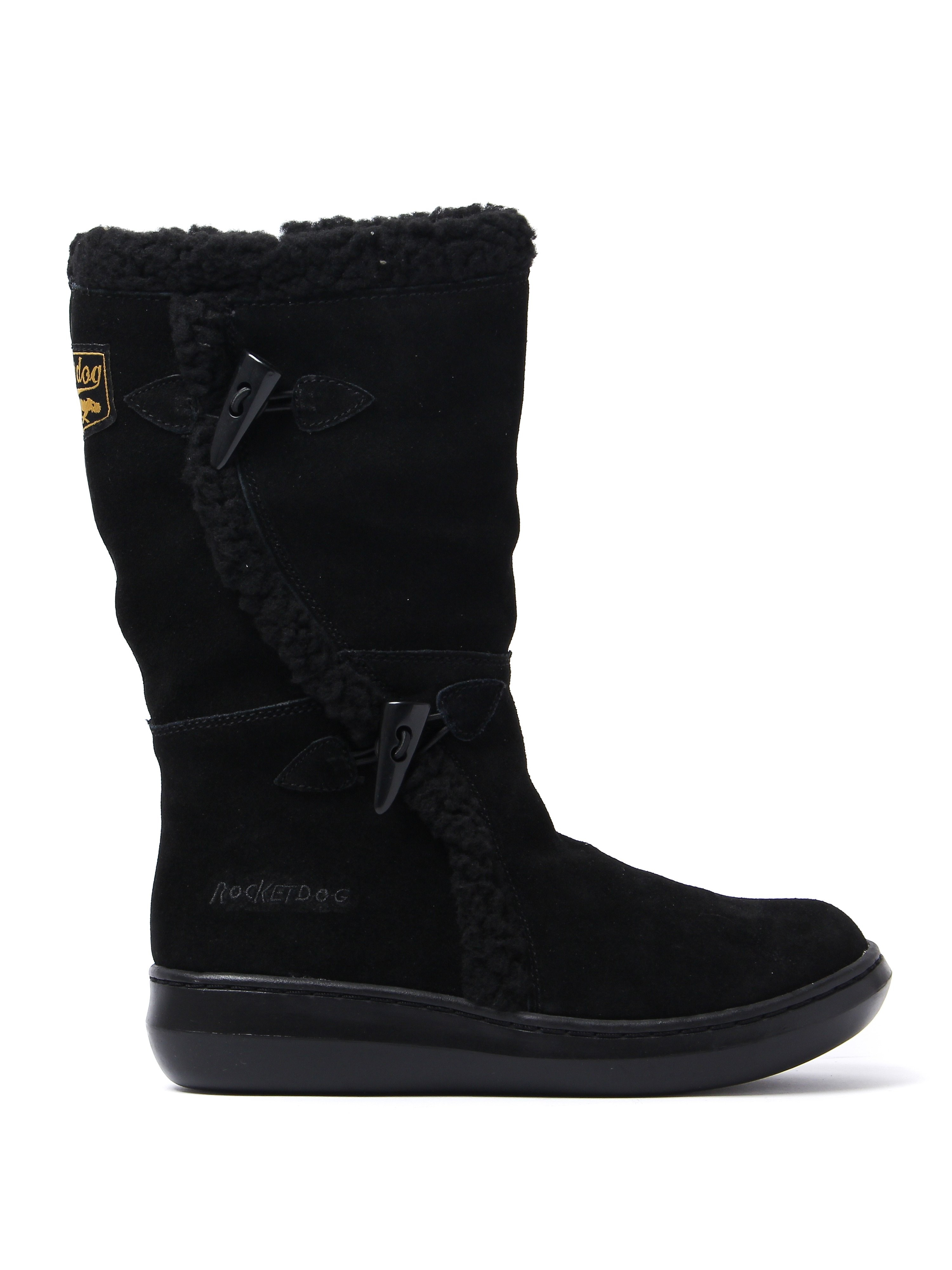 Rocket Dog Women's Slope Boots - Black Suede