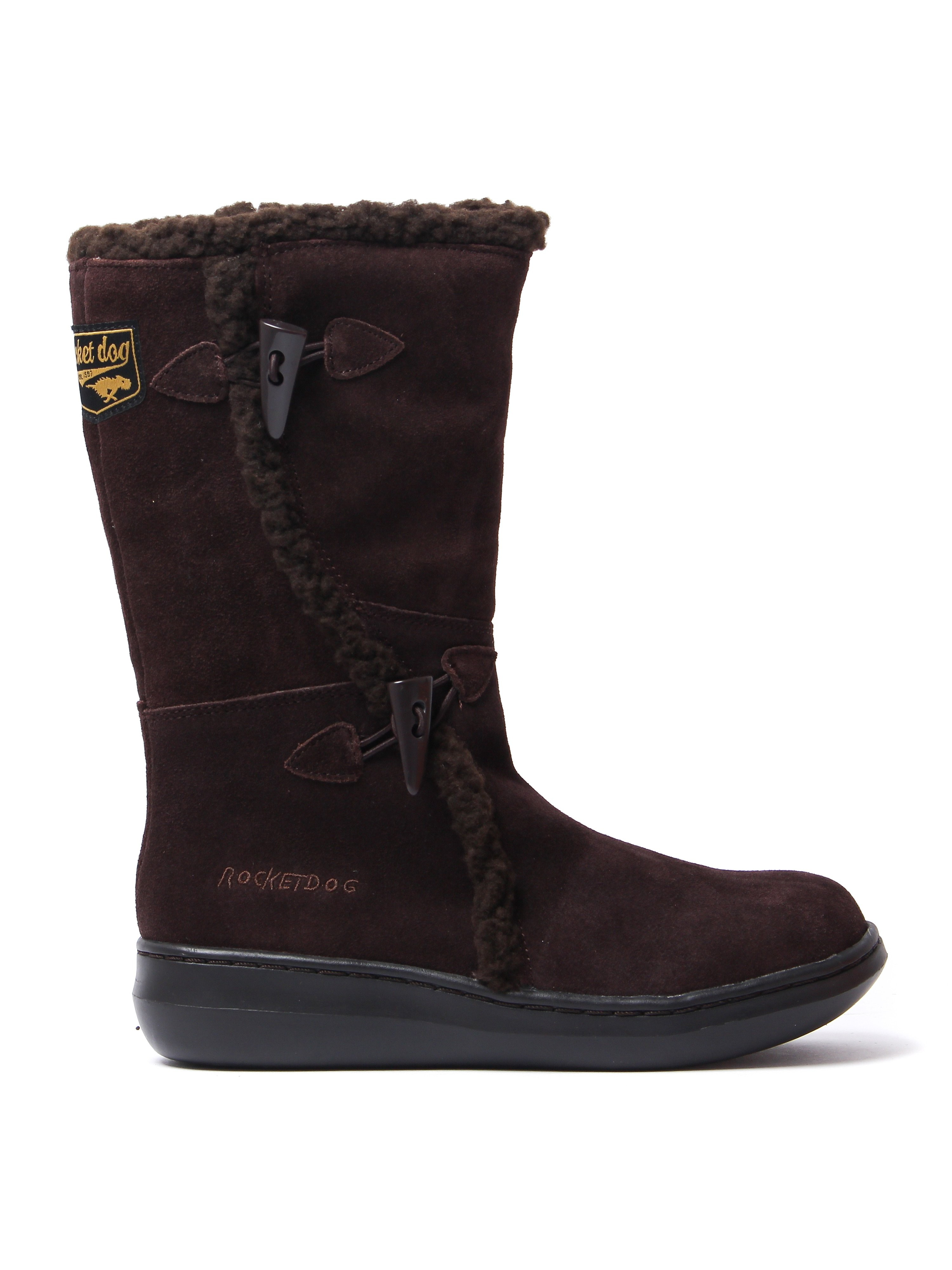 Rocket Dog Women's Slope Boots - Chocolate Suede