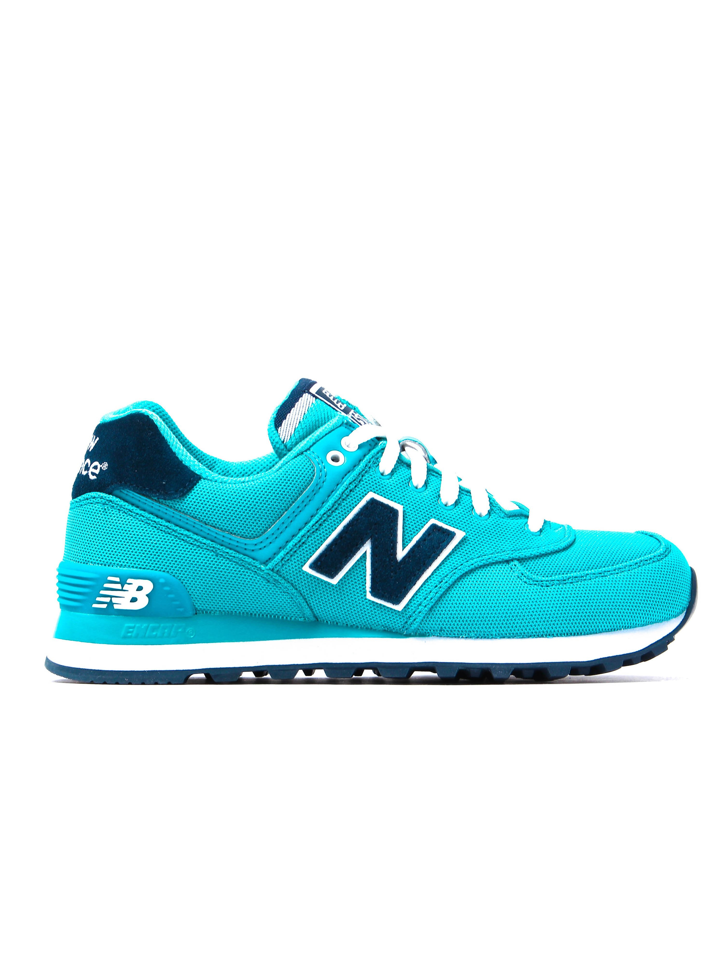 New Balance Women's 574 Polo Low Top Trainers - Turquoise