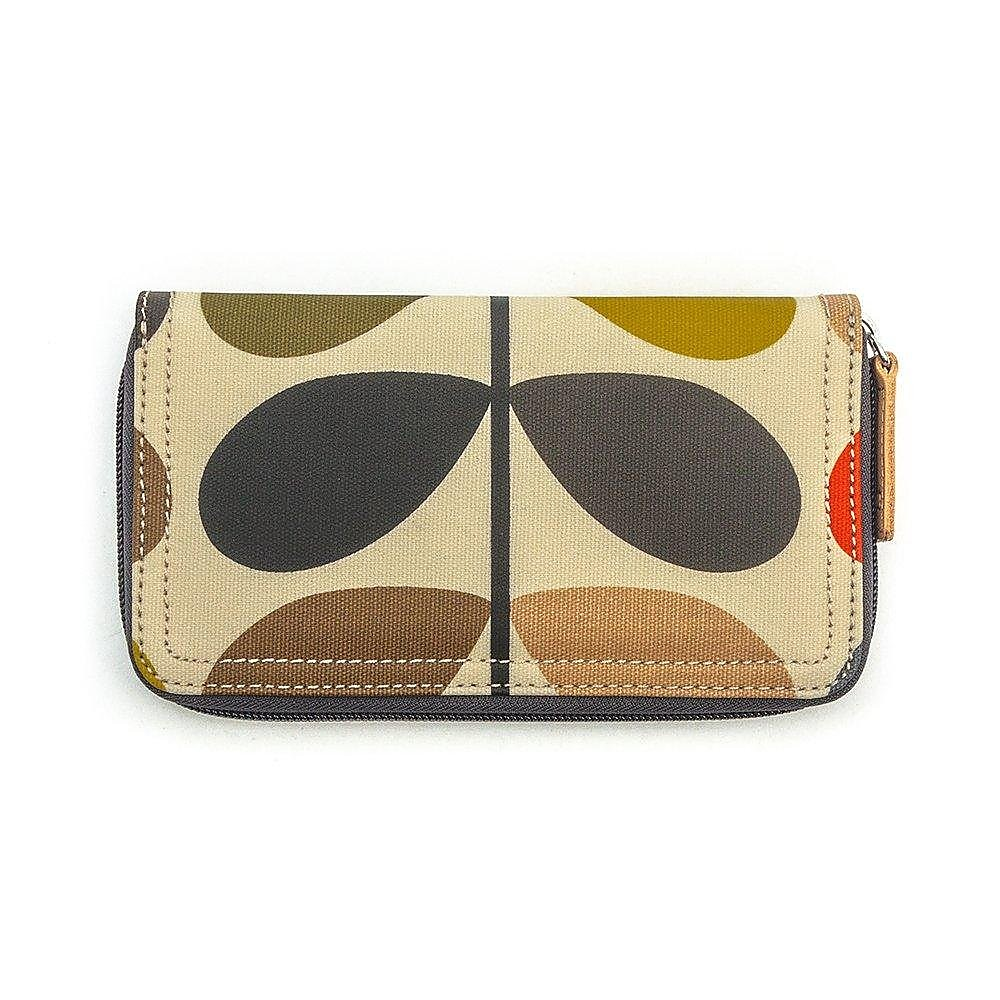 Orla Kiely Women's Bag Zip Wallet - Multi Stem