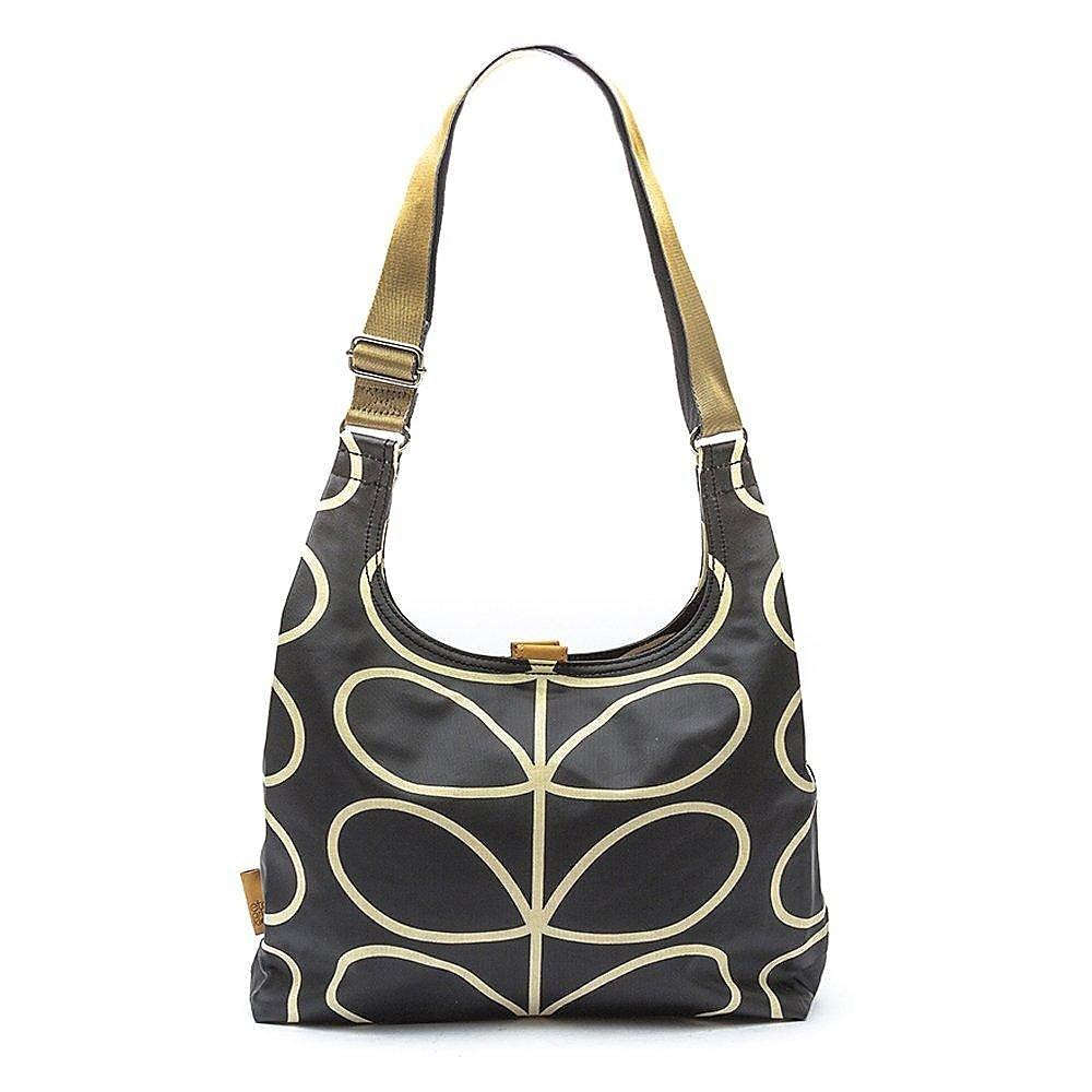 Orla Kiely Women's Midi Sling Bag - Black