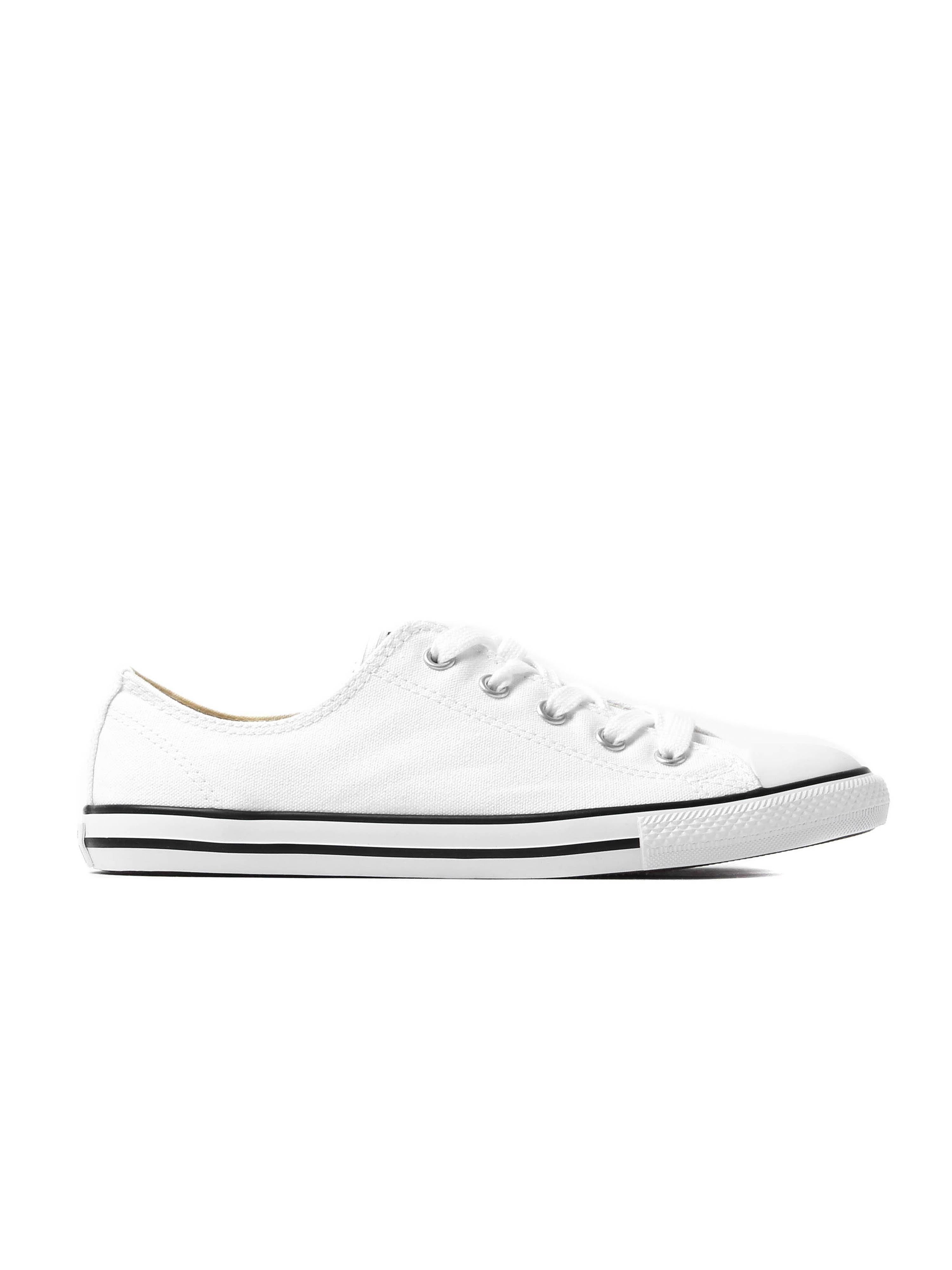 Converse Women's All Star Dainty OX Canvas Trainers - White