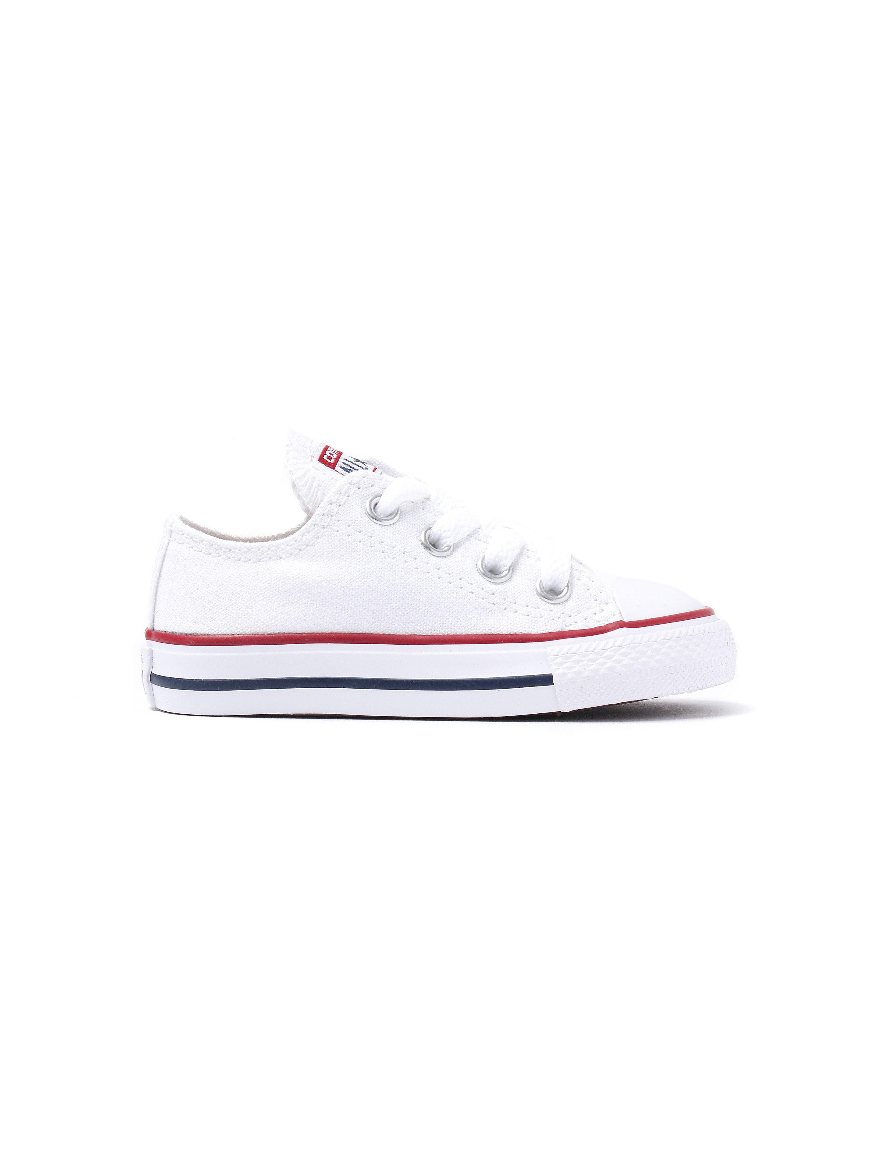 Converse Infant Chuck Taylor All Star Ox Trainers - Optical White