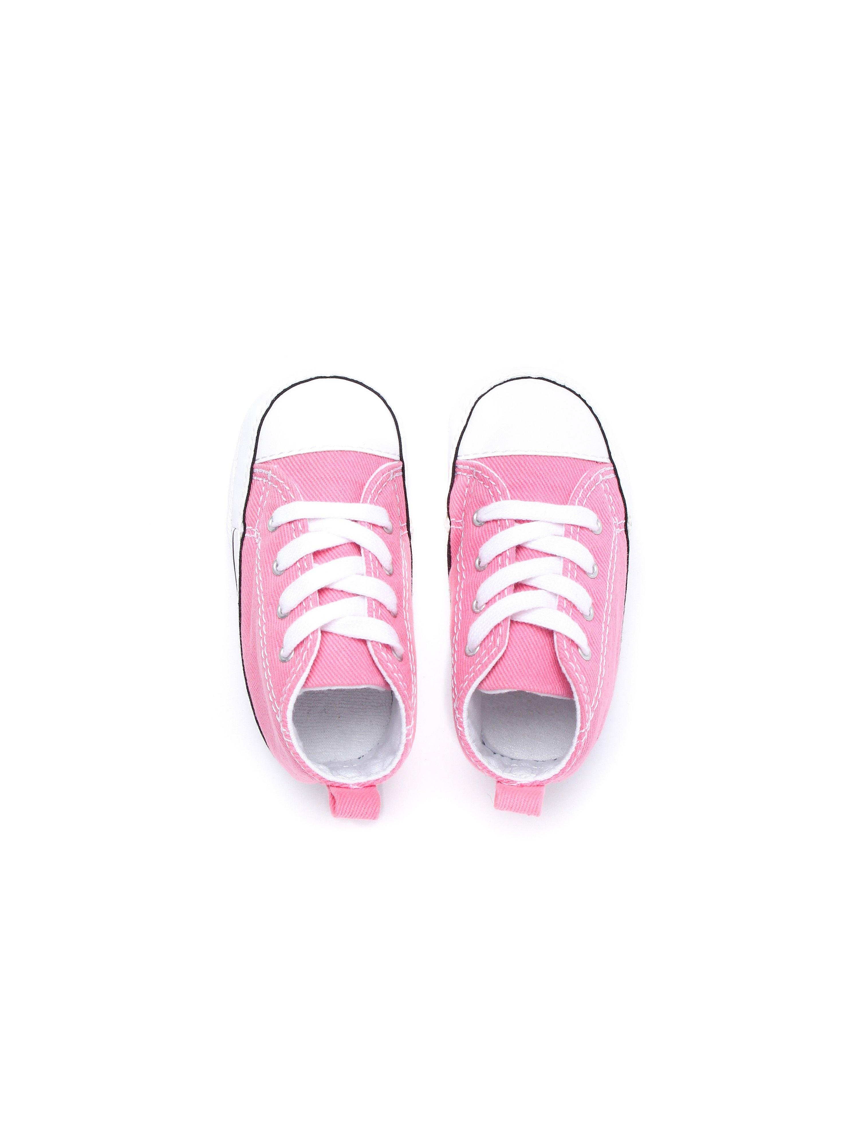 Converse Infants Crib First Star High Top - Pink
