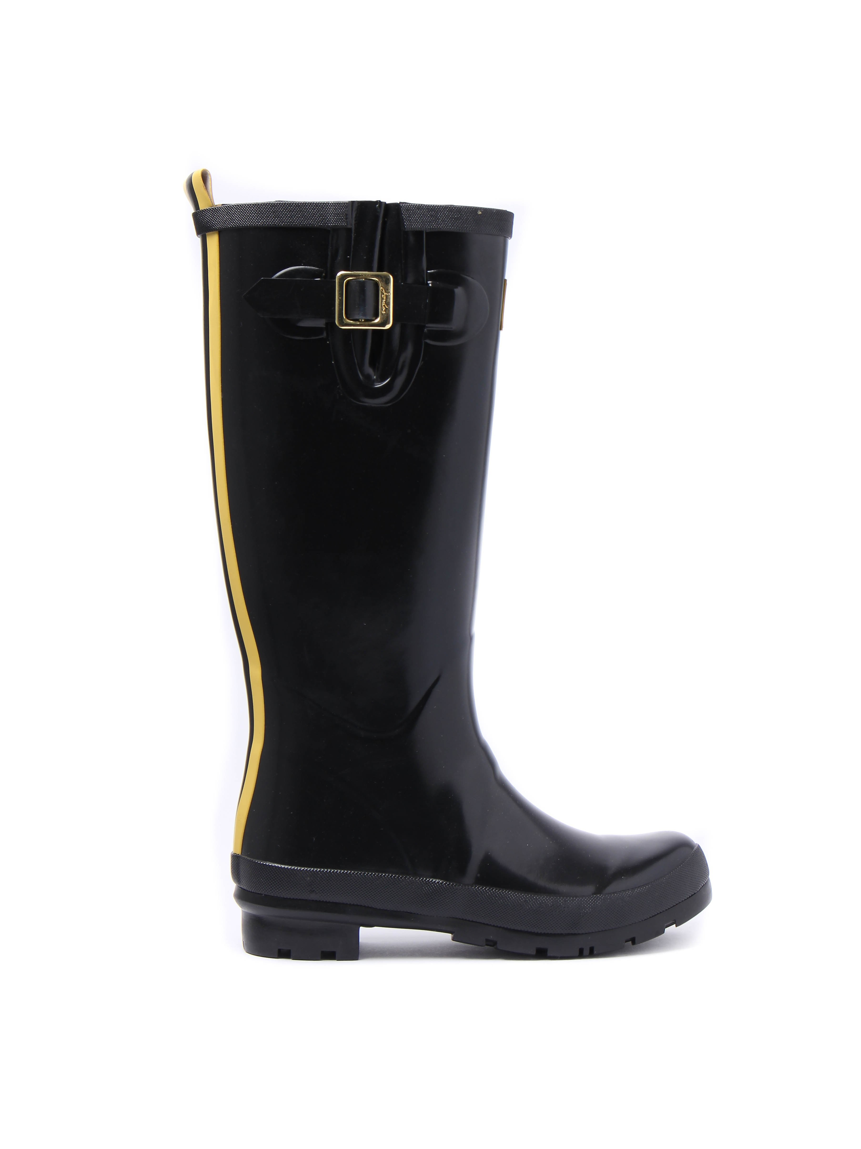 Joules Women's Field Rubber Wellington Boots - Black