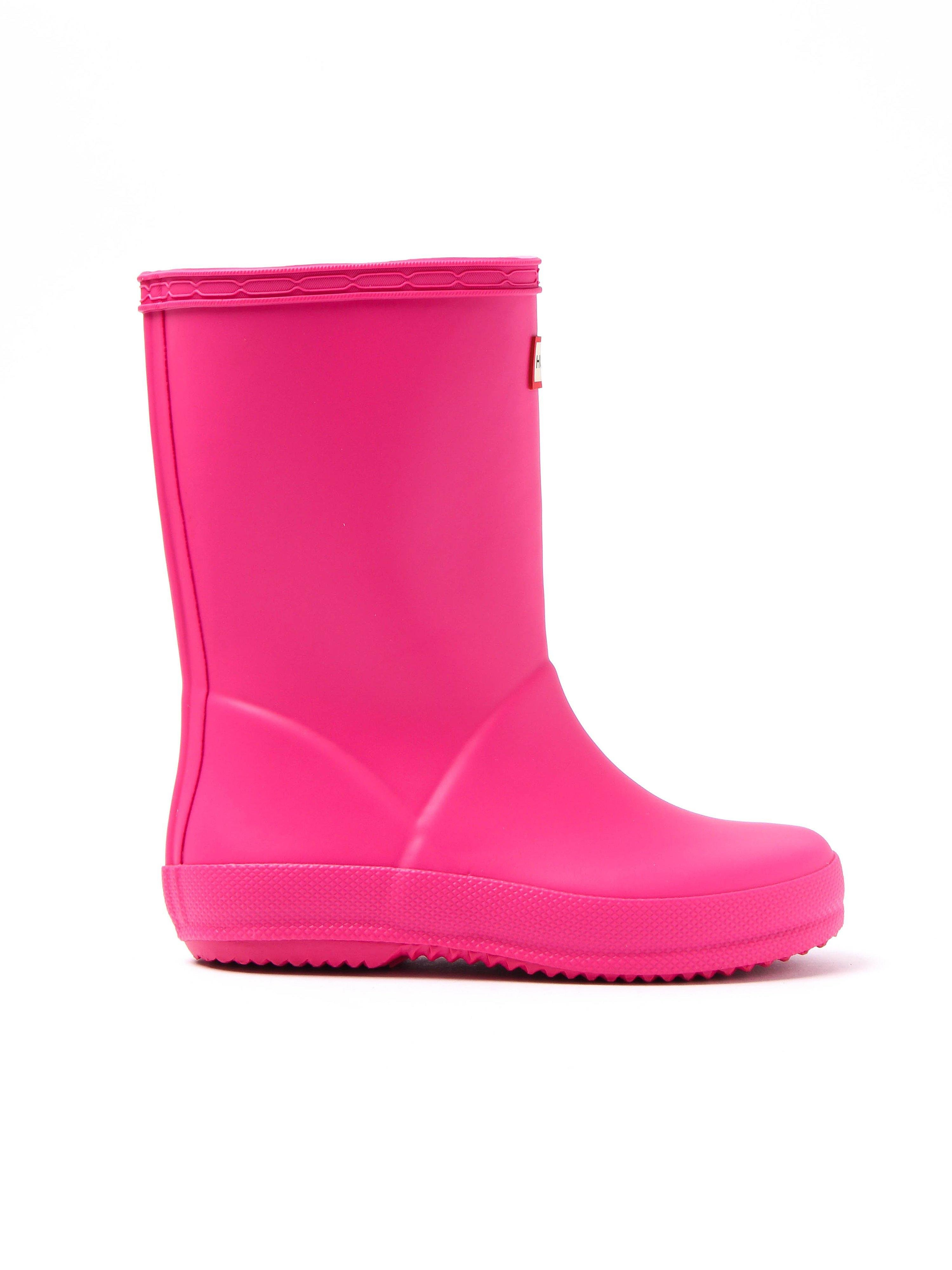 Hunter Wellies Infant First Classic Wellington Boots - Pink