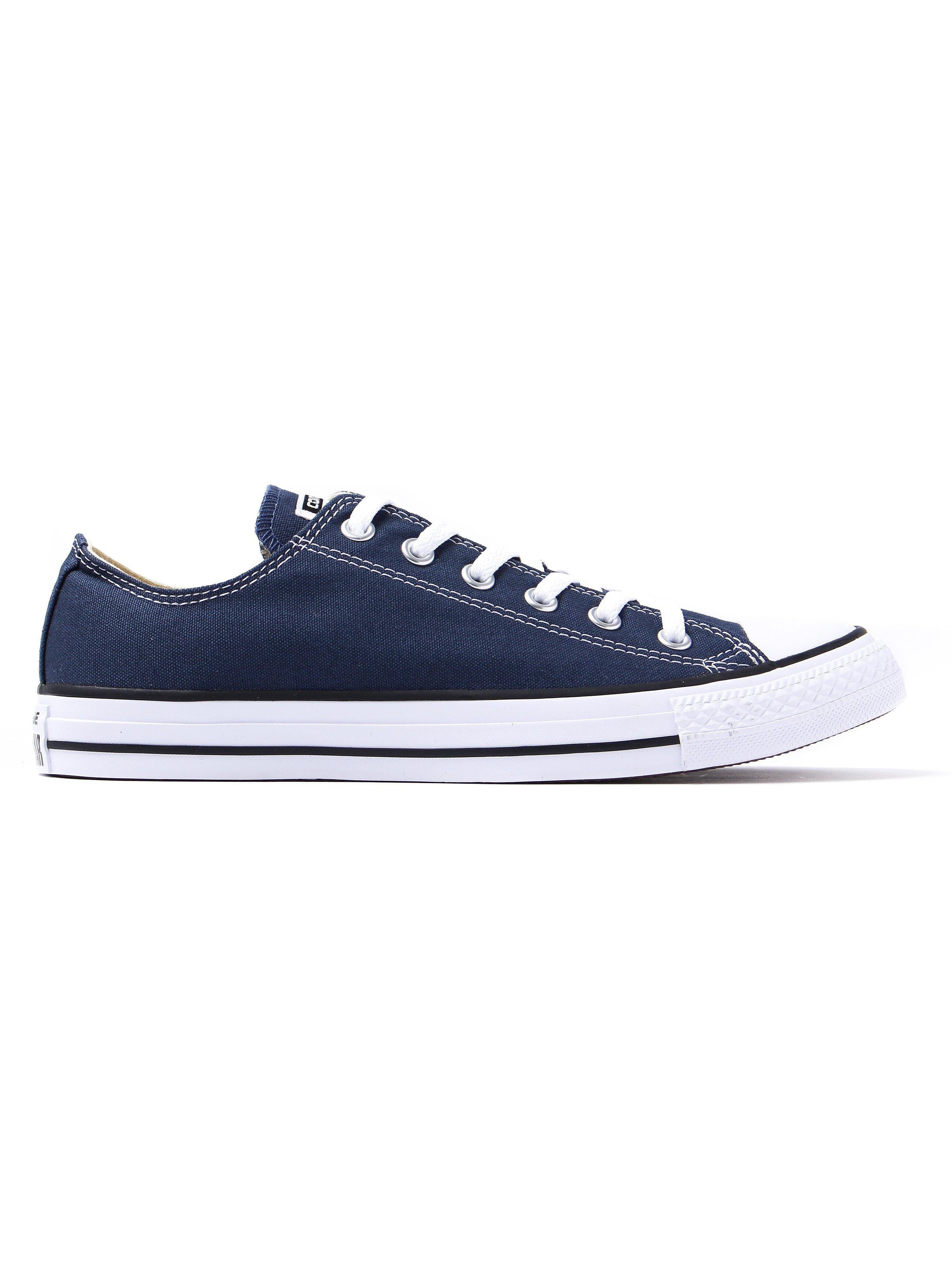 Converse Men's Chuck Taylor All Star OX Trainers - Navy