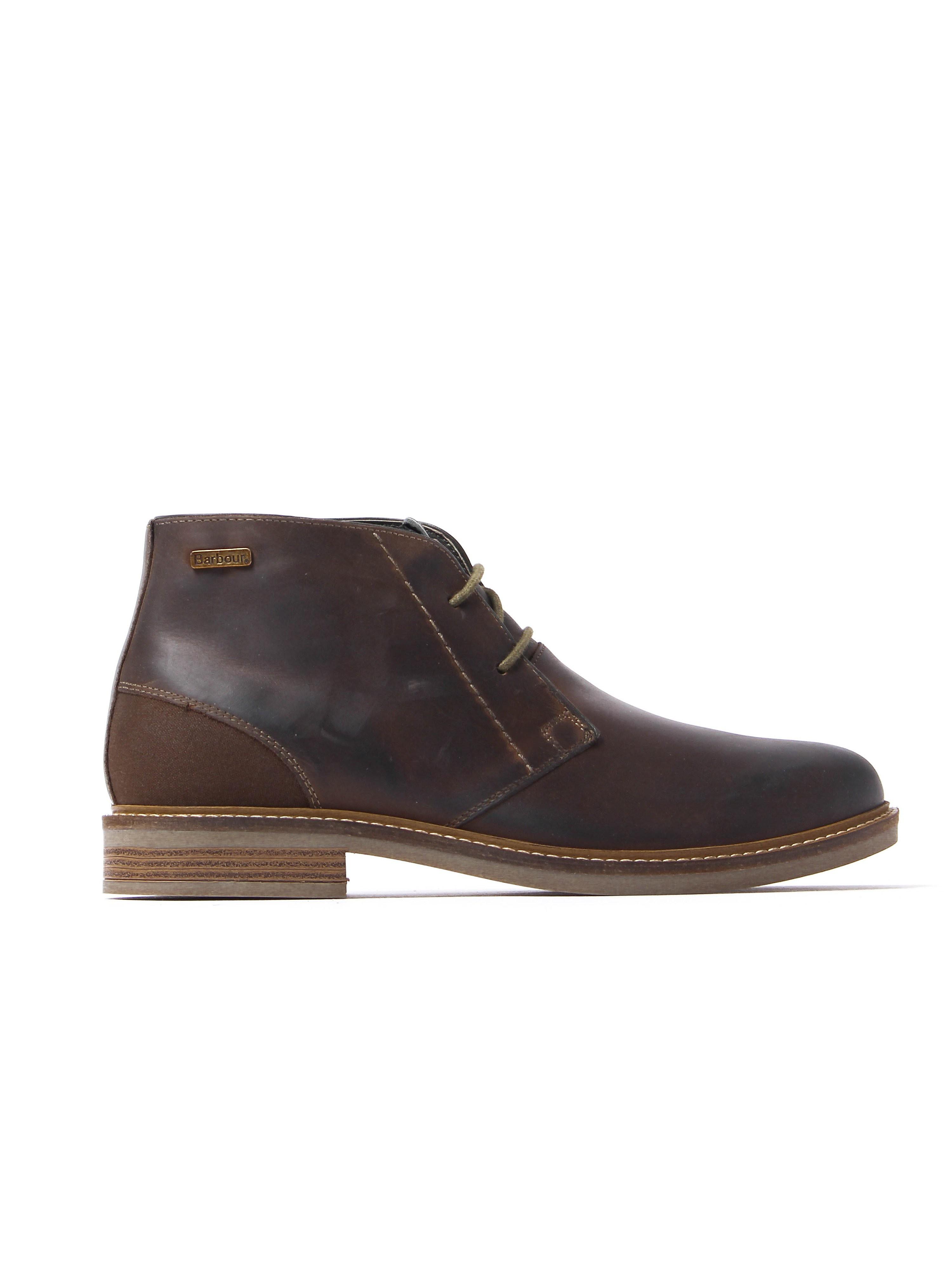 Barbour Men's Readhead Chukka Boots - Choco Nubuck