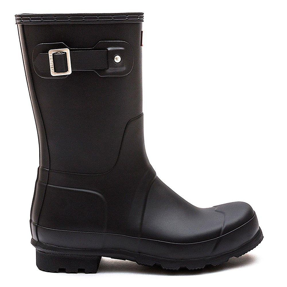 Hunter Wellies Men's Original Short Wellington Boots - Black