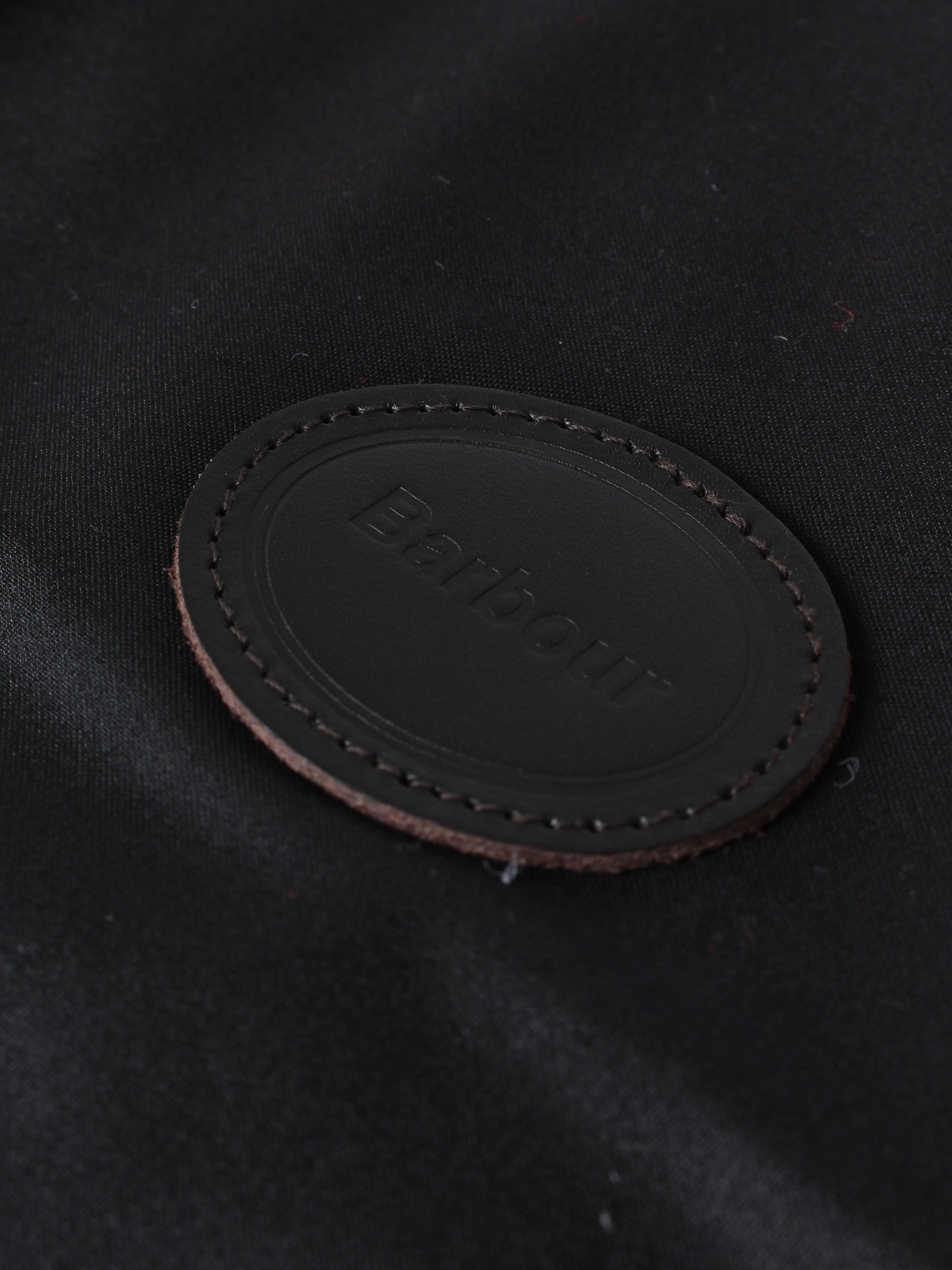 Barbour Wax Cotton Dog Coat - Black