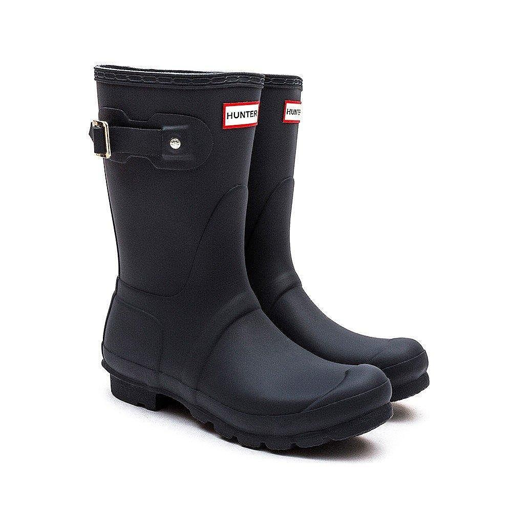 Hunter Wellies Women's Original Short Wellington Boots - Navy