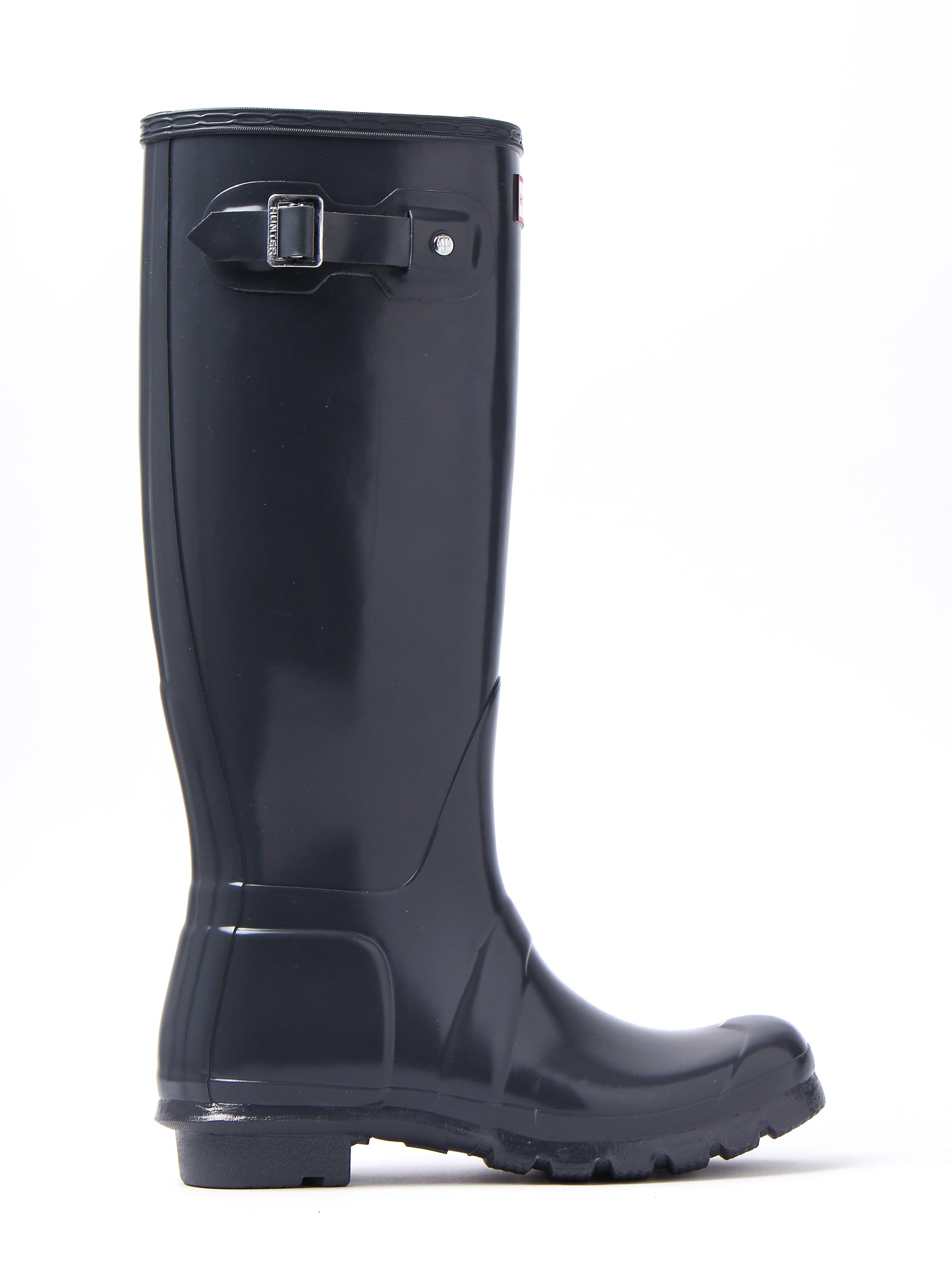 Hunter Wellies Women's Original Tall Wellington Boots - Slate Gloss