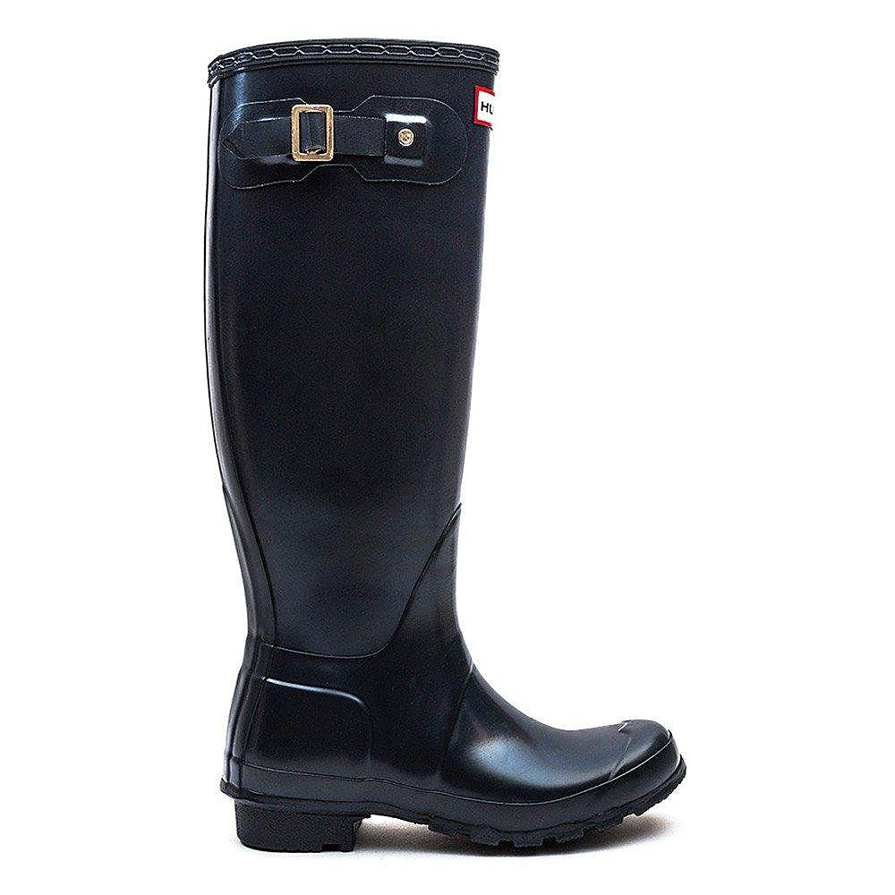 Hunter Wellies Women's Original Tall Wellington Boots - Navy