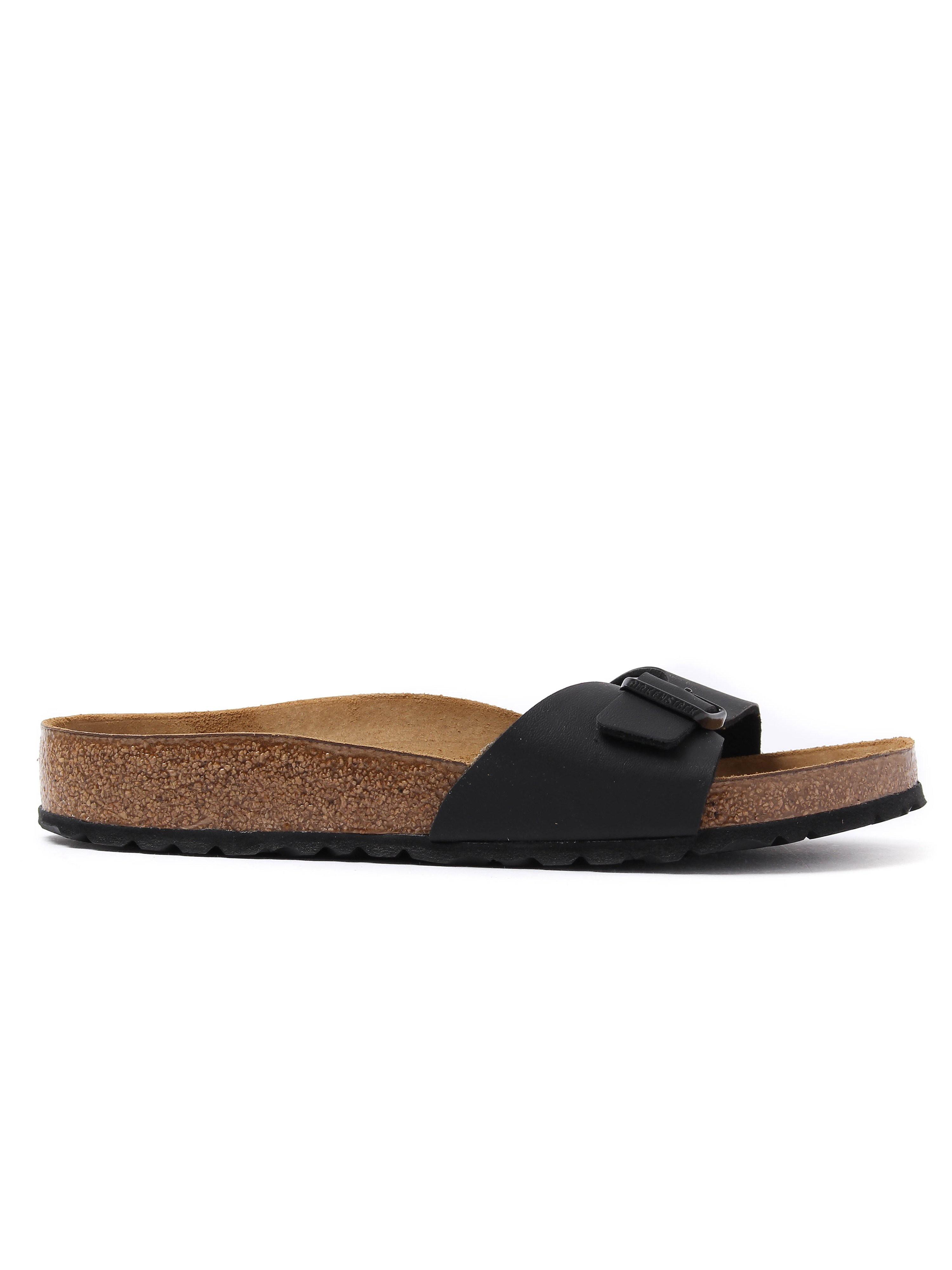 Birkenstock Women's Madrid Single Strap Sandals - Black