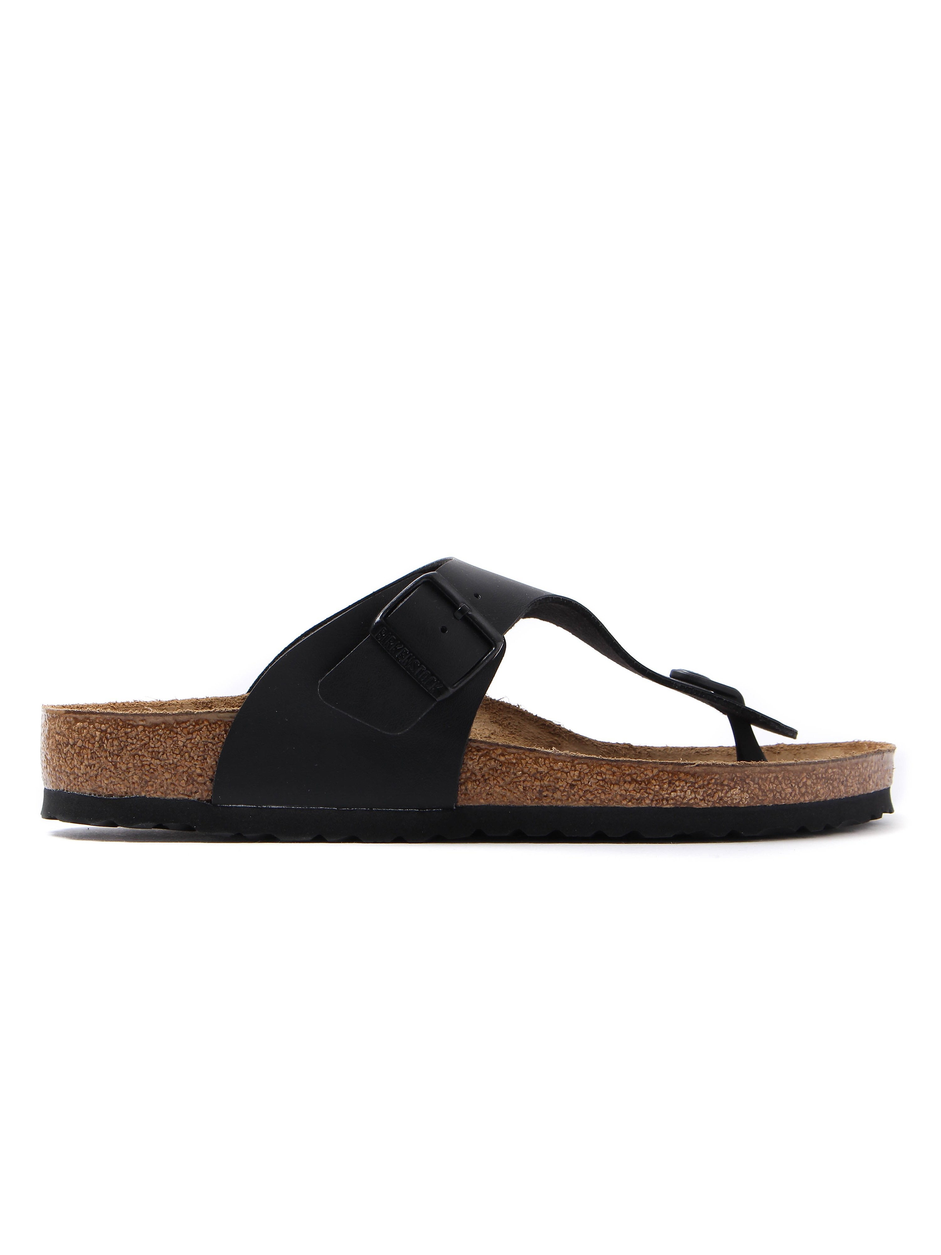 Birkenstock Men's Ramses Toe Strap Sandals - Black