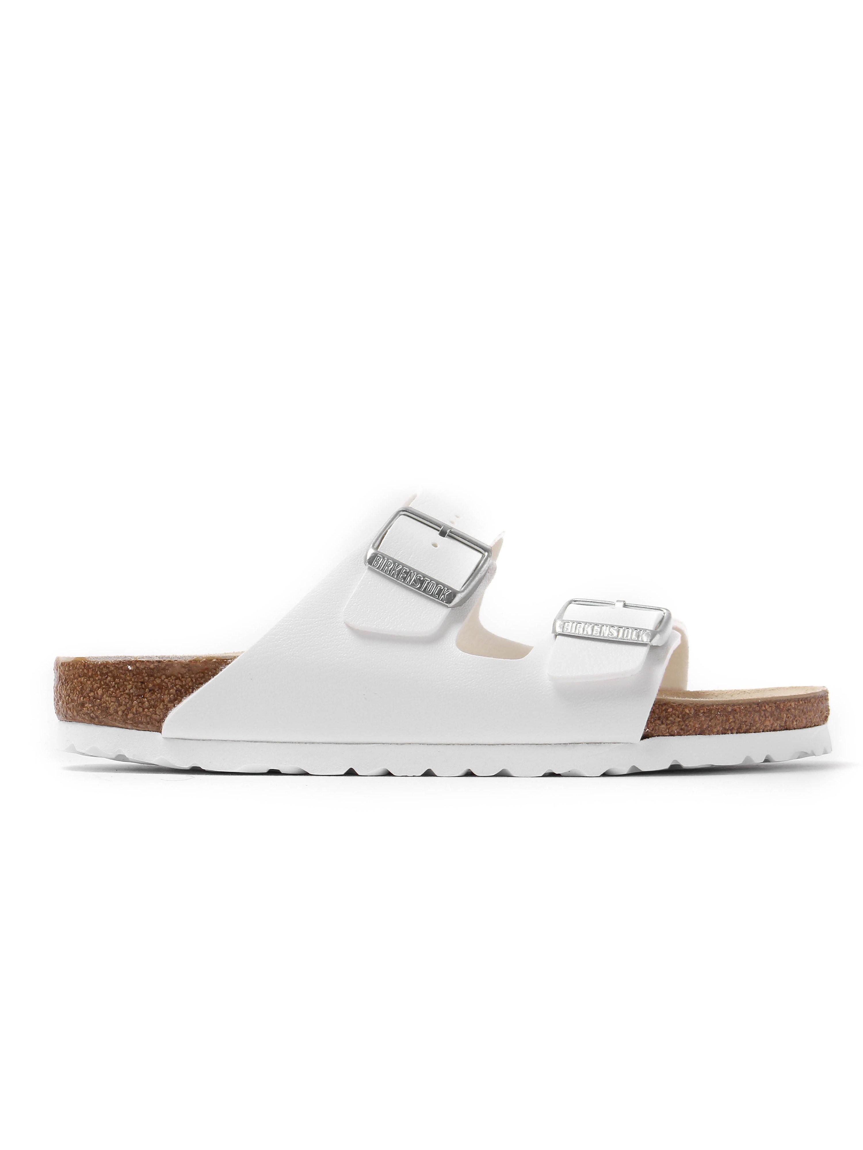 Birkenstock Women's Arizona Double Strap Narrow Fit Sandals - White