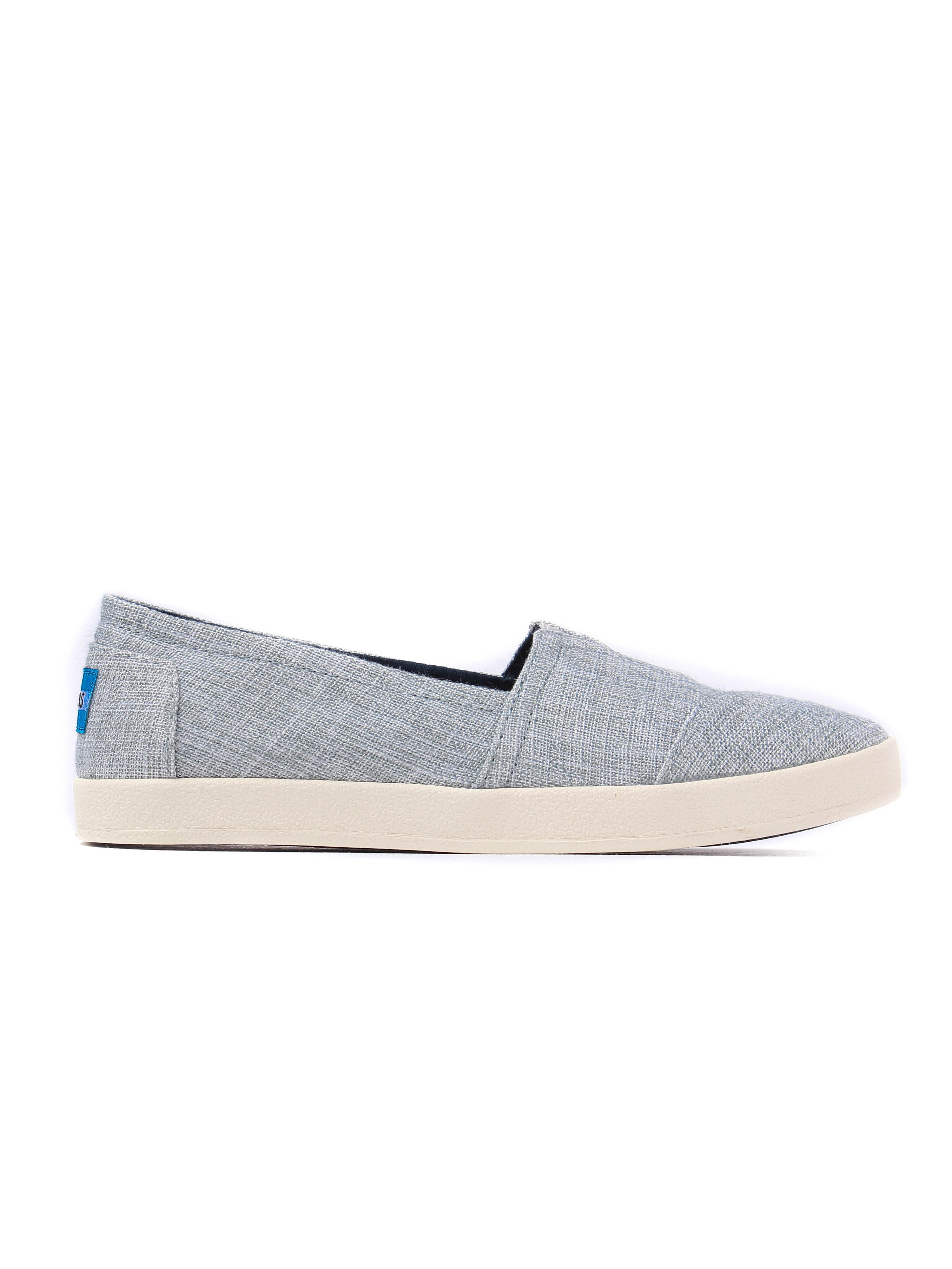 Toms Women's Avalon Lurex Woven Espadrilles - Drizzle Grey