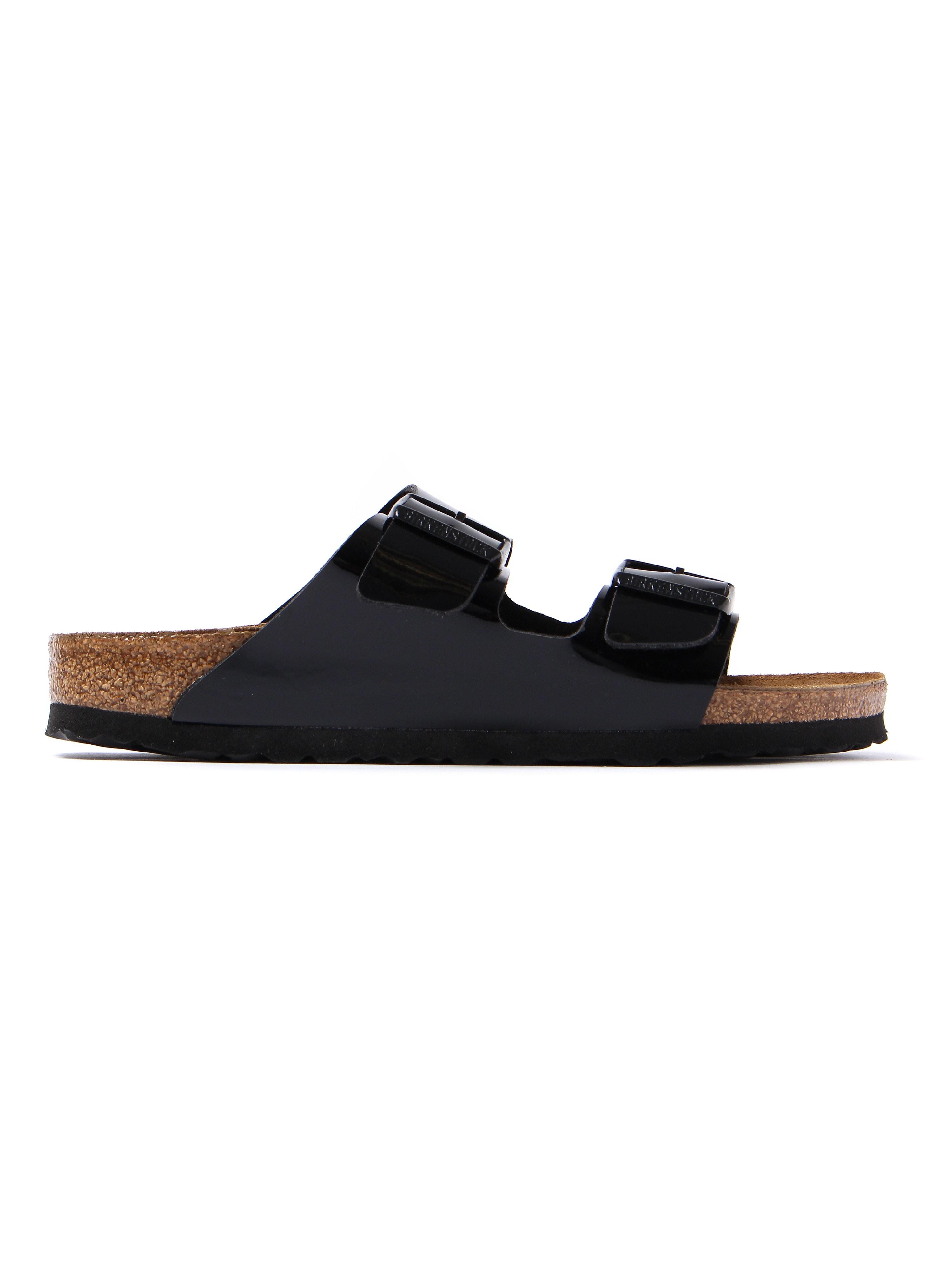 Birkenstock Women's Arizona Narrow Fit Sandals - Black Patent