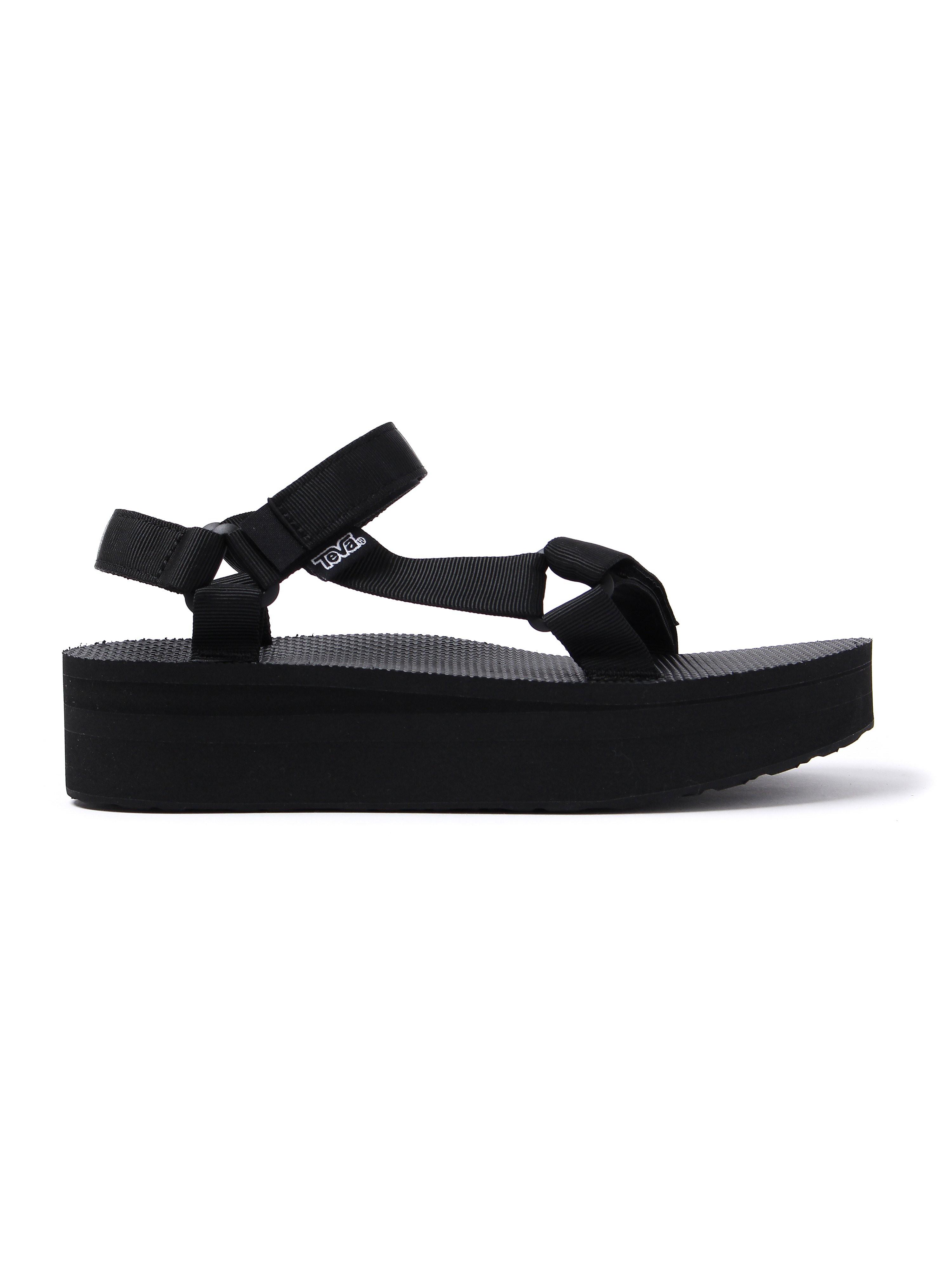 Teva Women's Flatform Universal Sandals - Black