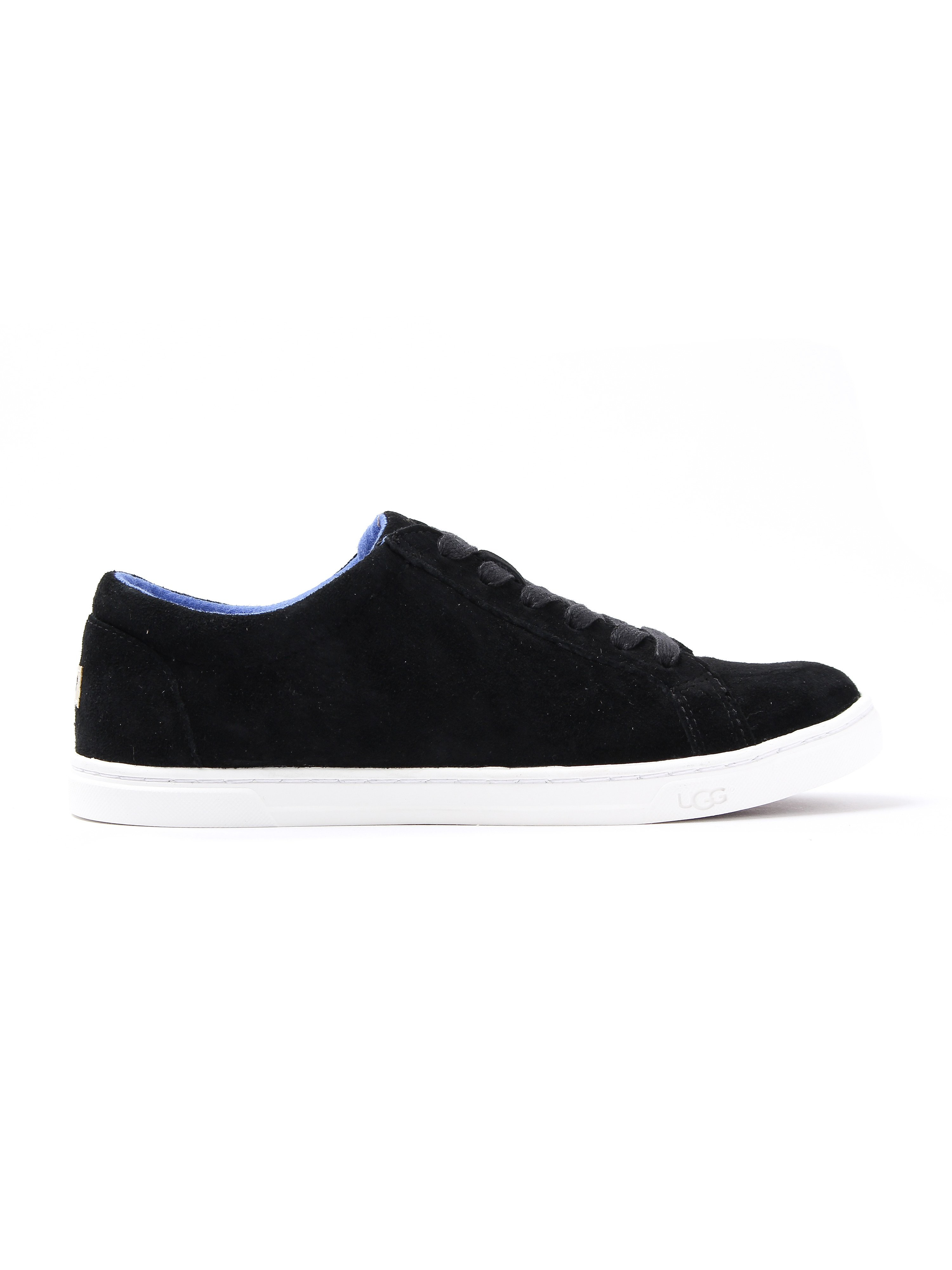 Ugg Women's Karine Suede Low-Rise Trainers - Black