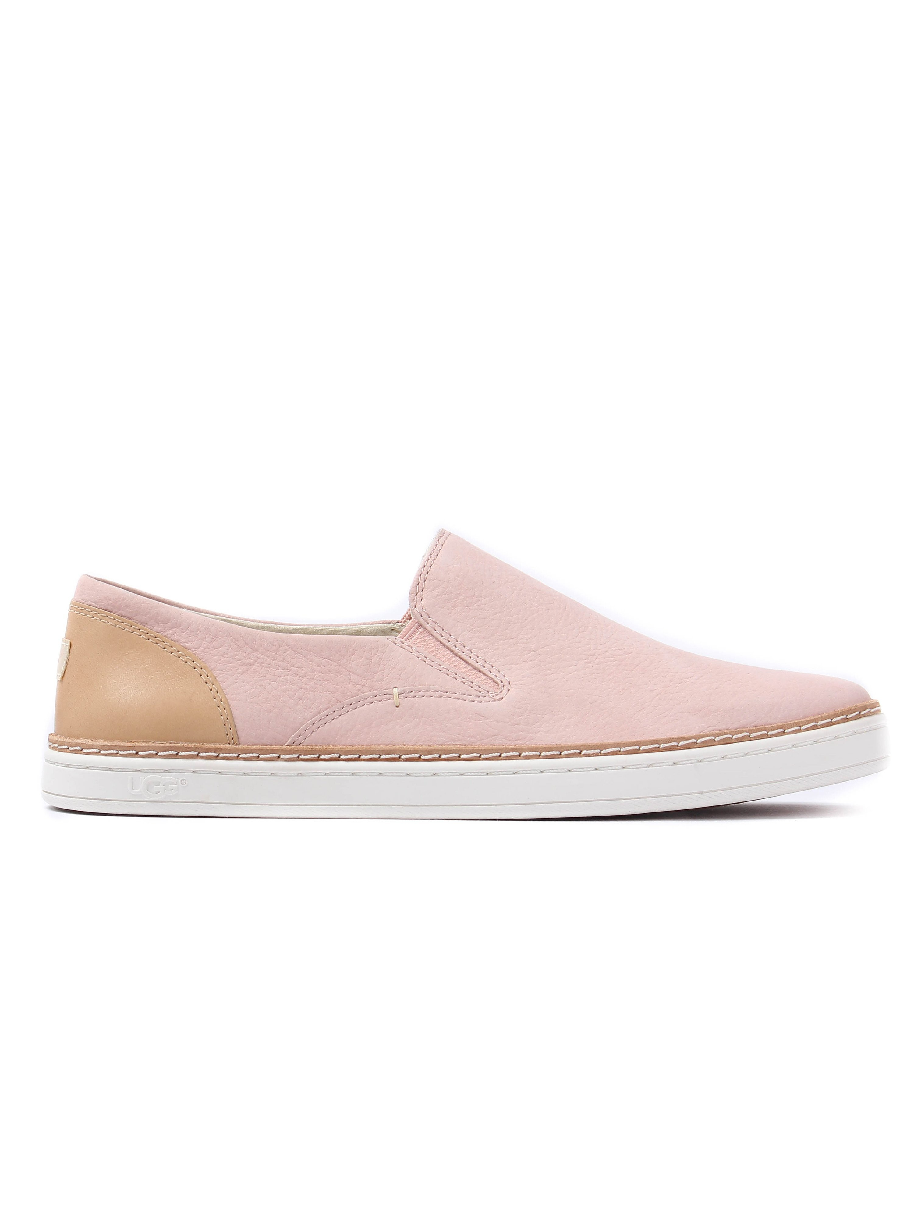 Ugg Women's Adley Nubuck Slip-On Trainers - Quartz