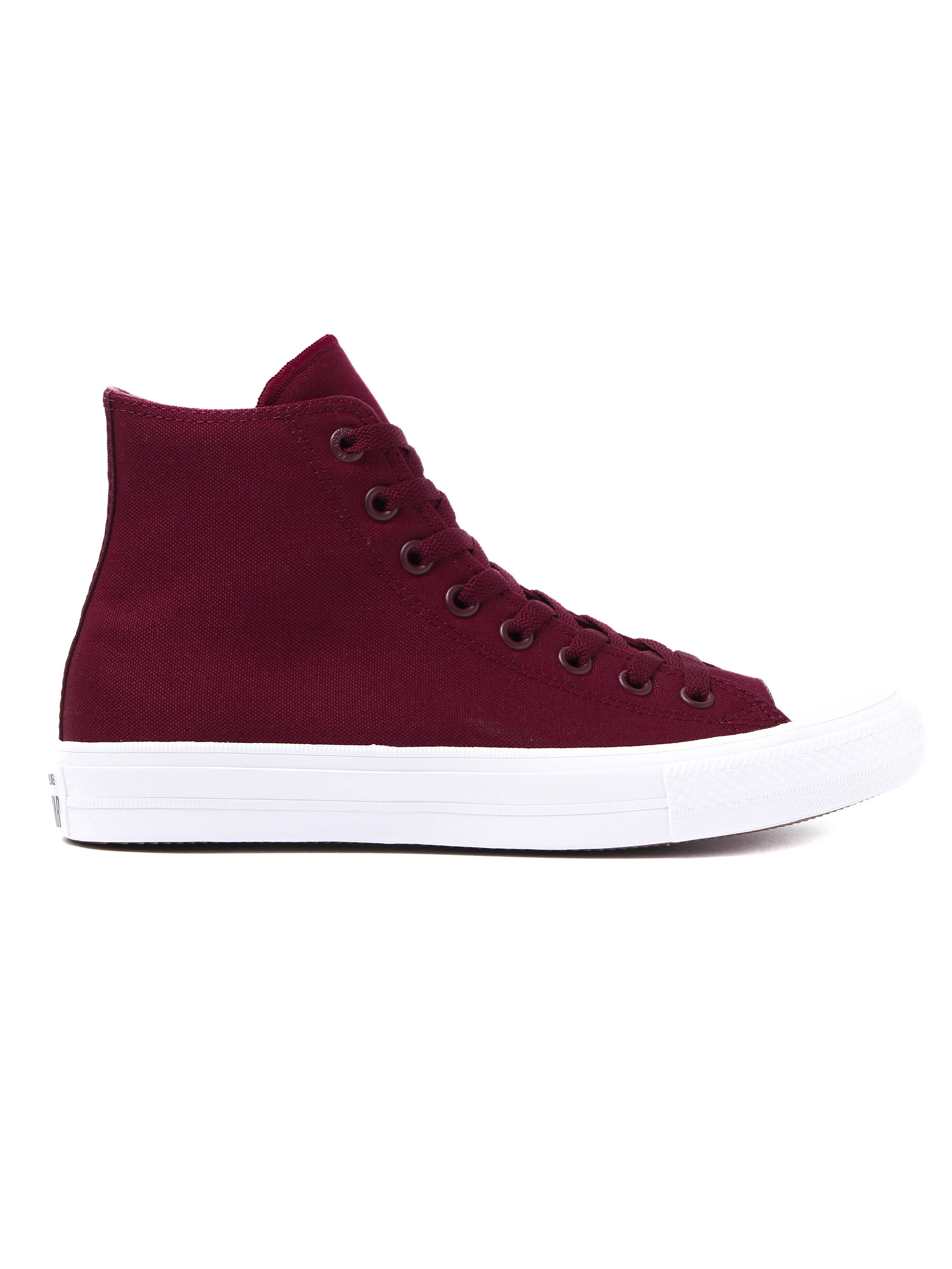 Converse Men's Chuck Taylor All Star II HI Trainers - Bordeaux