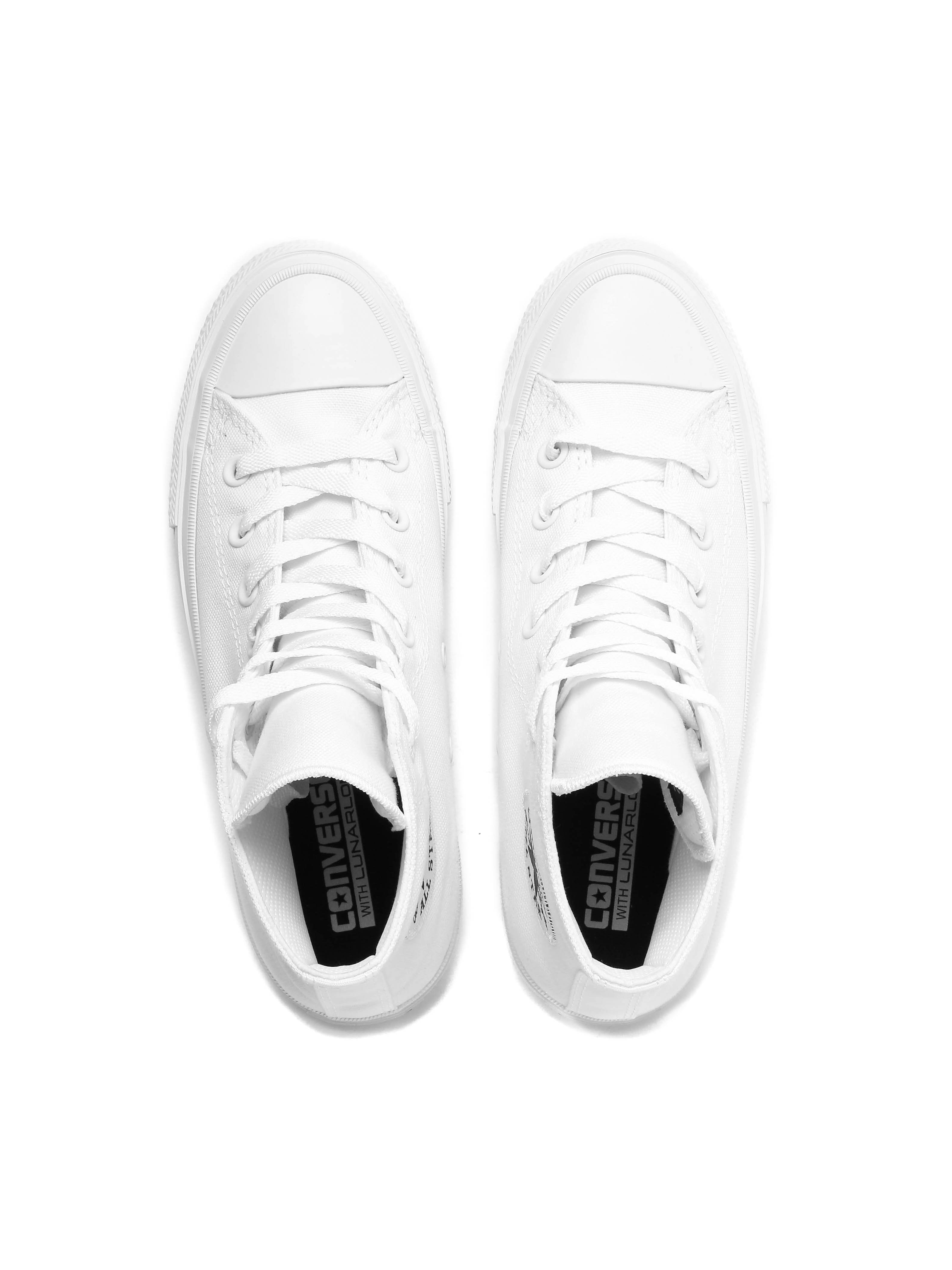 Converse Men's Chuck Taylor All Star II HI Trainers - White
