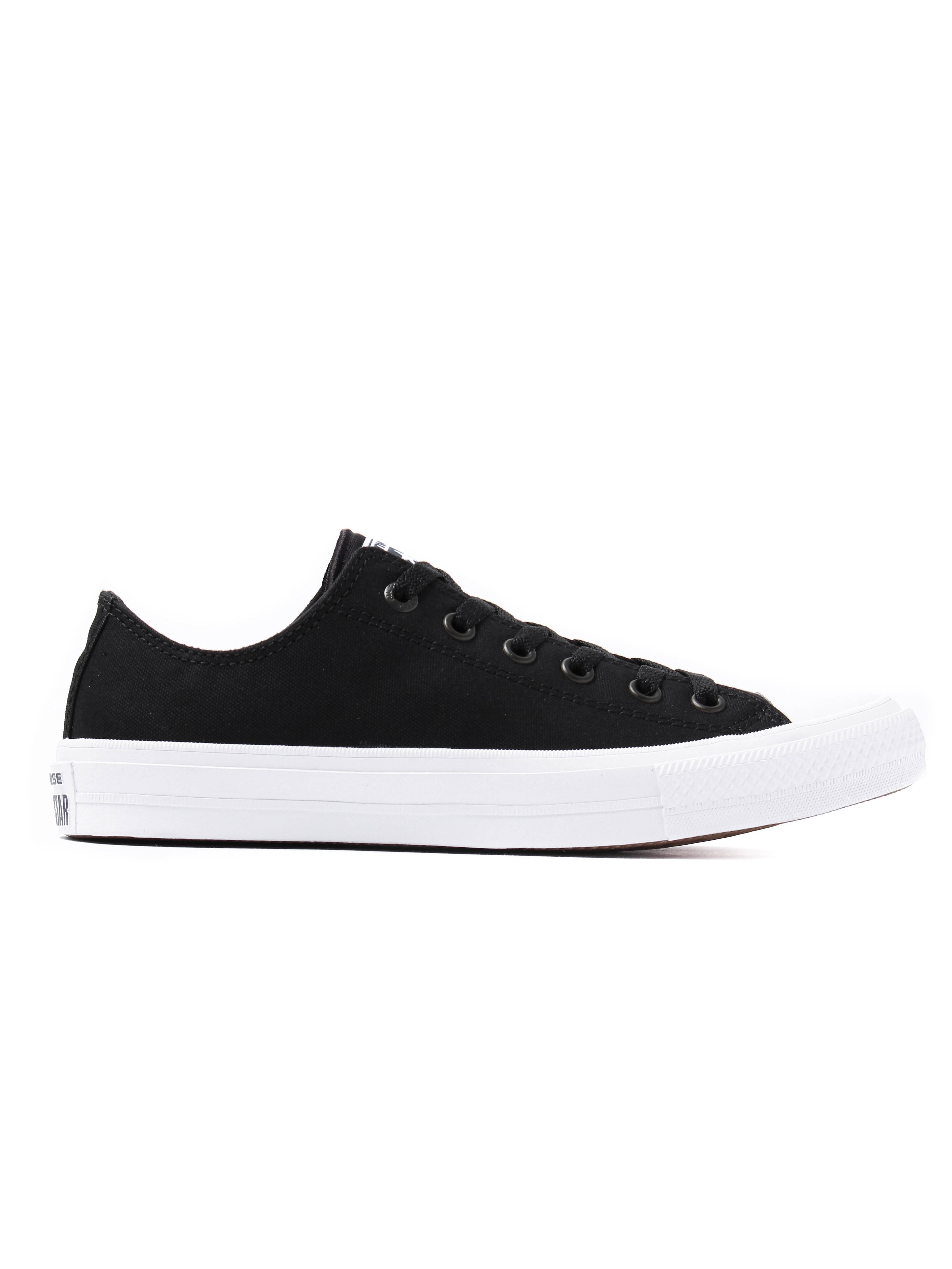 Converse Men's Chuck Taylor All Star II OX Trainers - Black