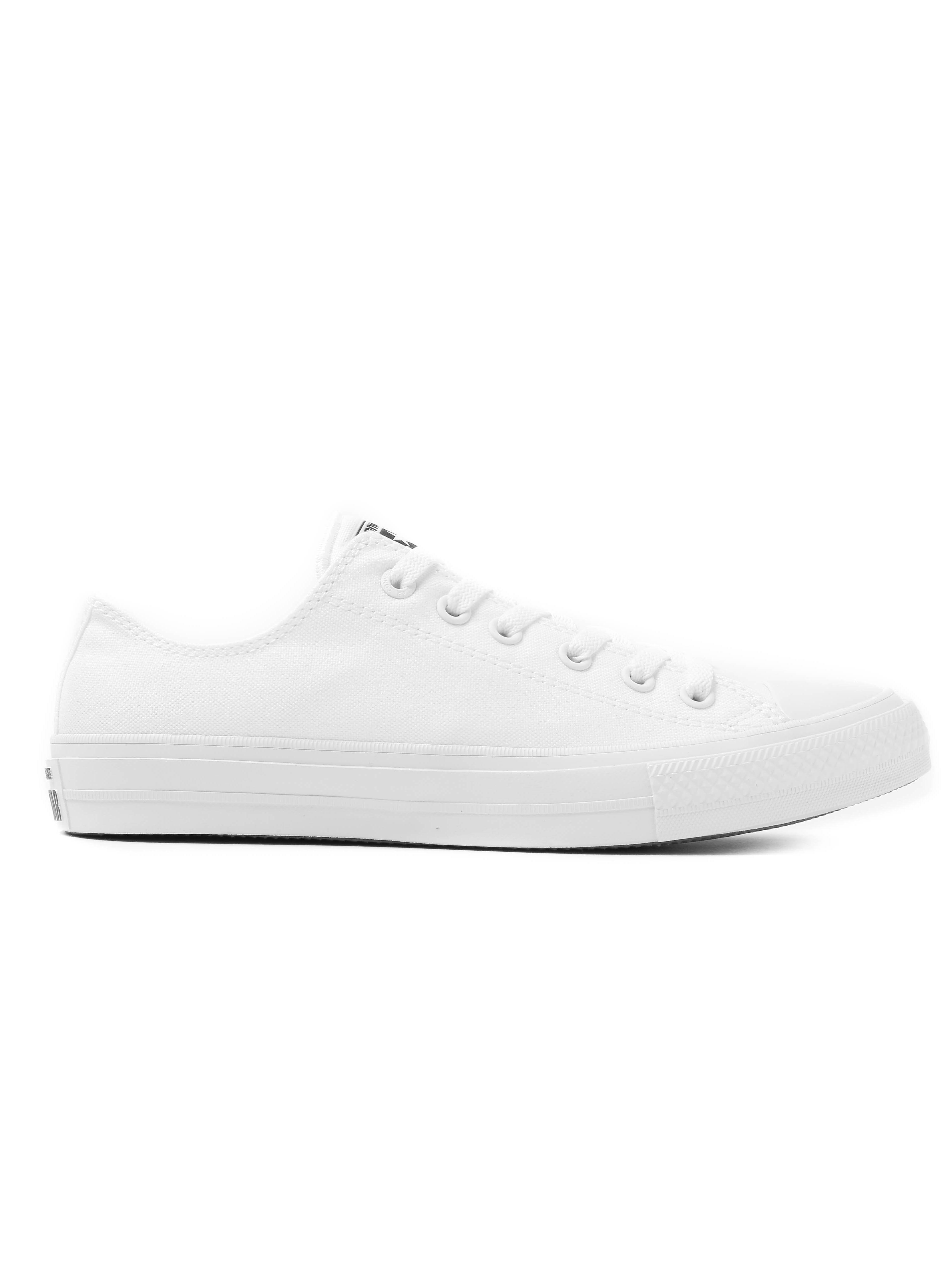 Converse Men's Chuck Taylor All Star II OX Trainers - White