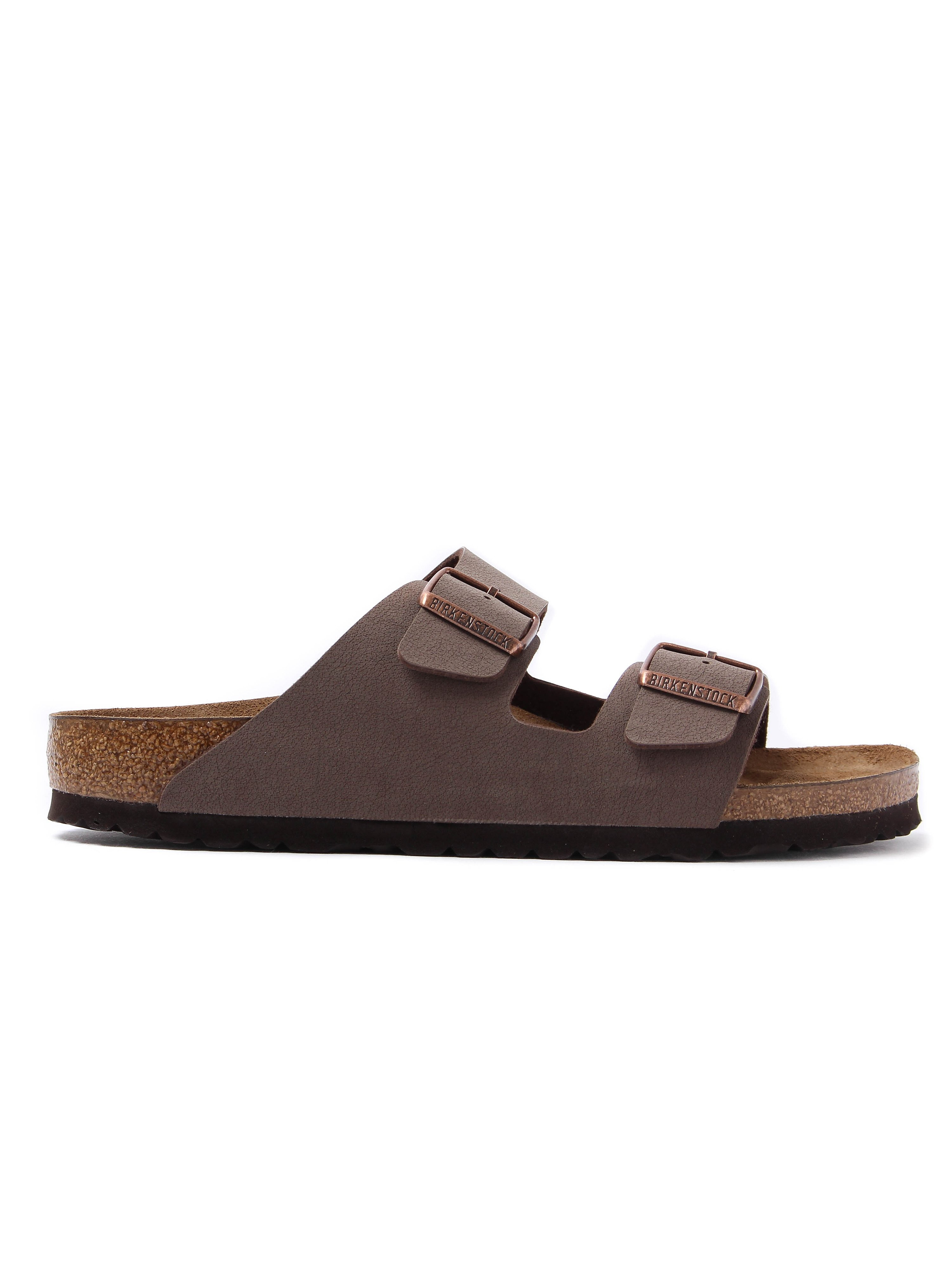 Birkenstock Women's Arizona Double Strap Leather Sandals - Mocca