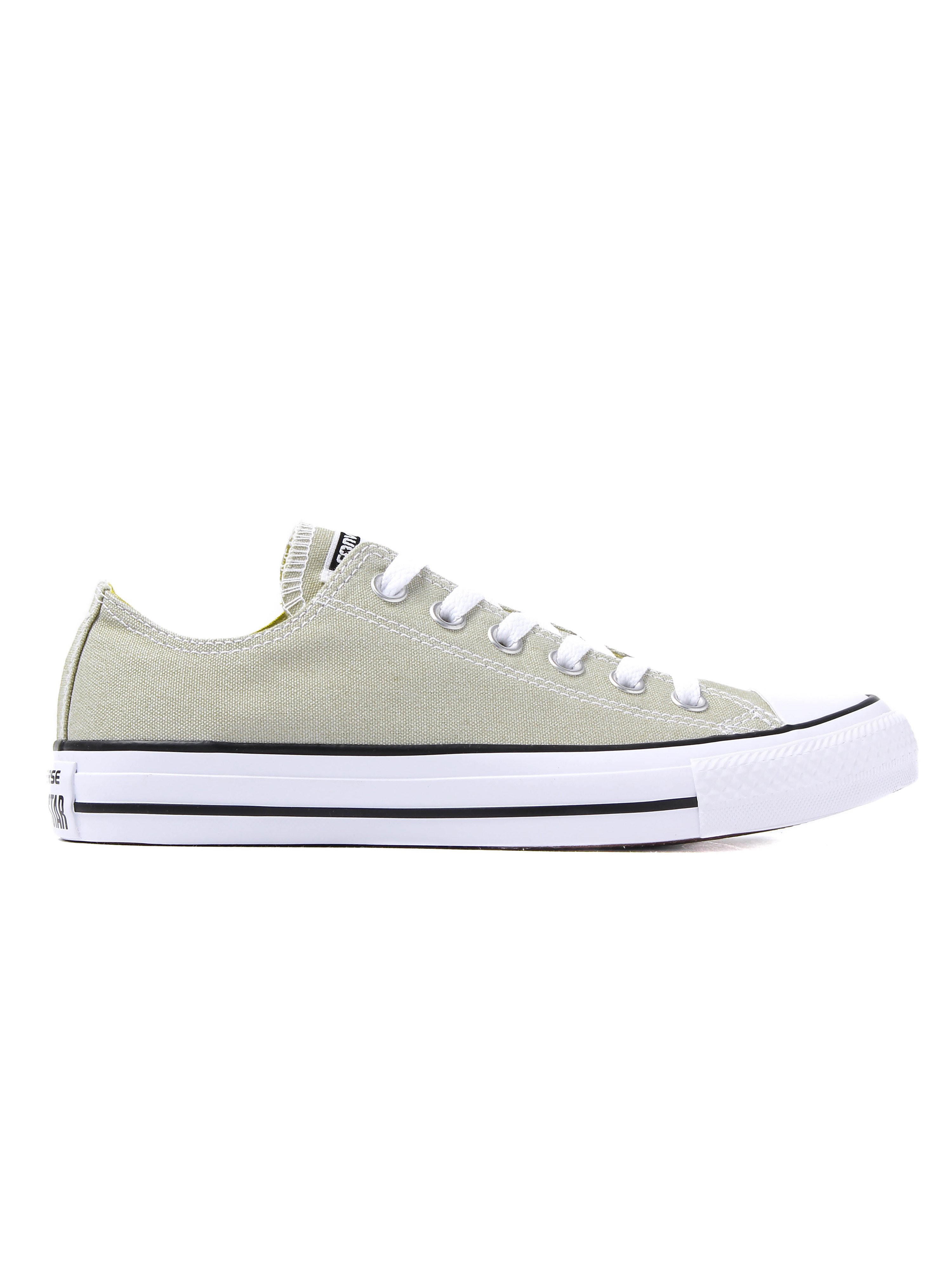 Converse Unisex Chuck Taylor All Star OX Trainers - Light Surplus