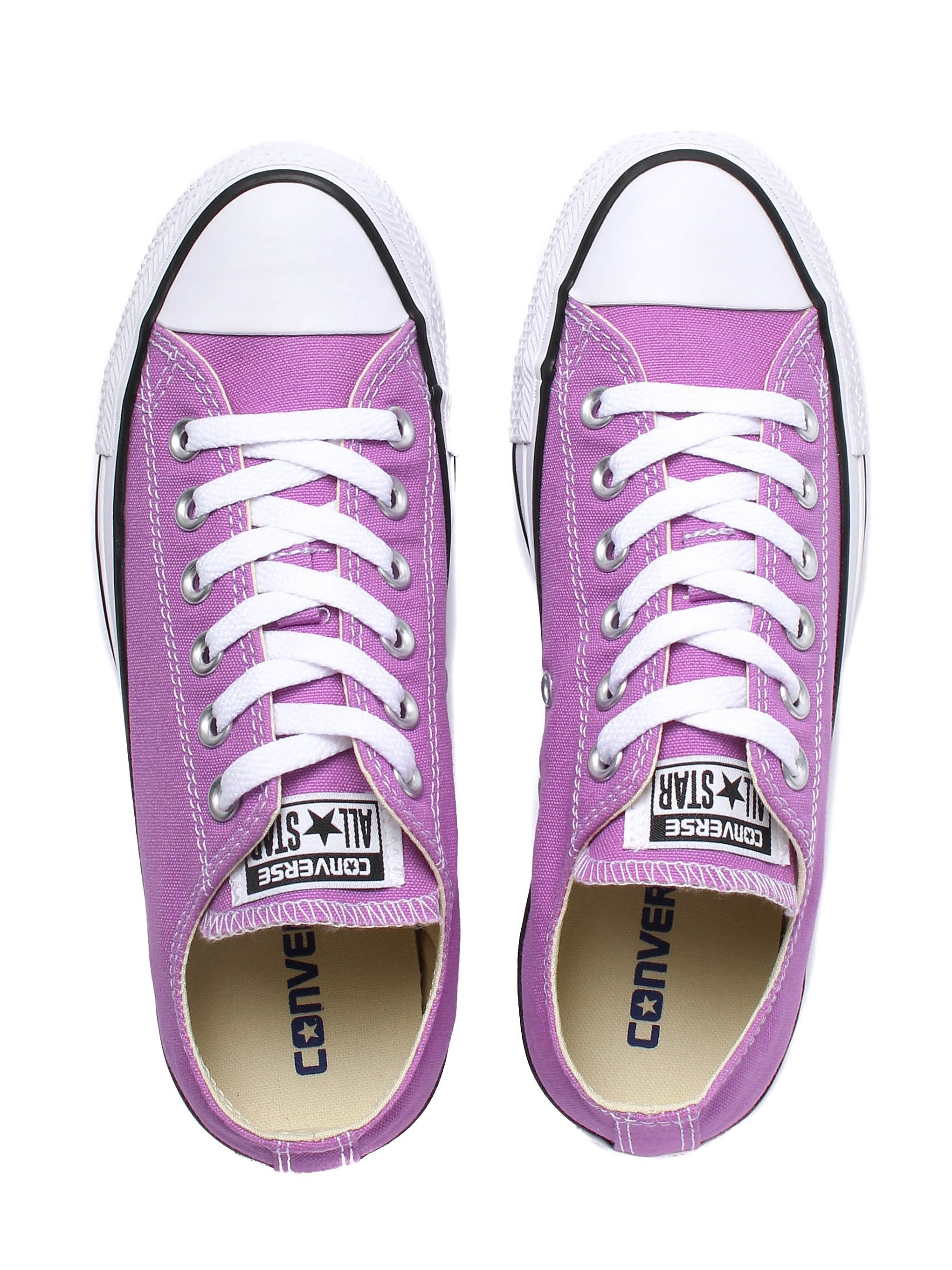 Converse Women's Chuck Taylor All Star OX Canvas Trainers - Fuchsia Glow