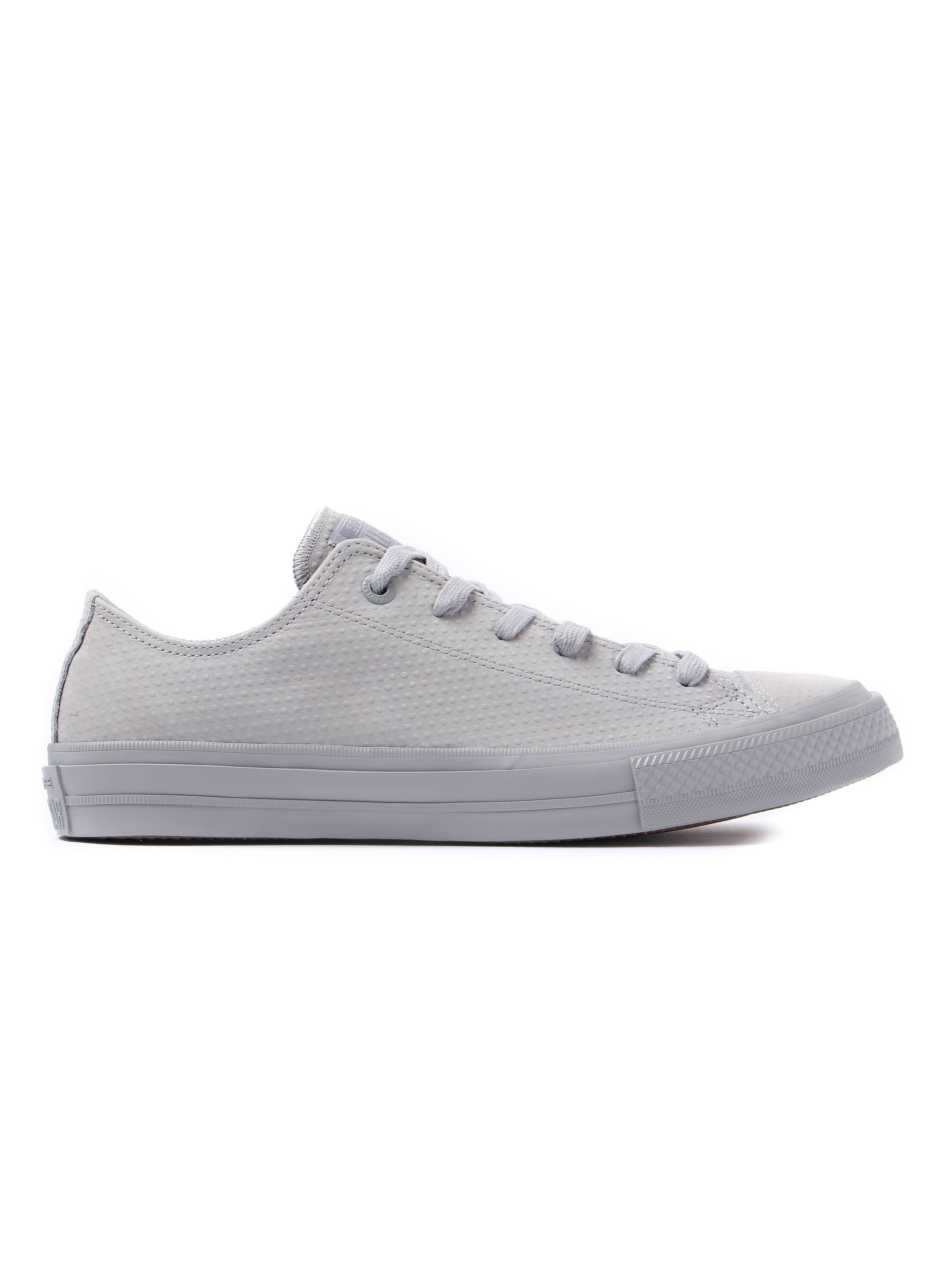 Converse Men's Chuck Taylor All Star II OX Leather Trainers - Dolphin Grey