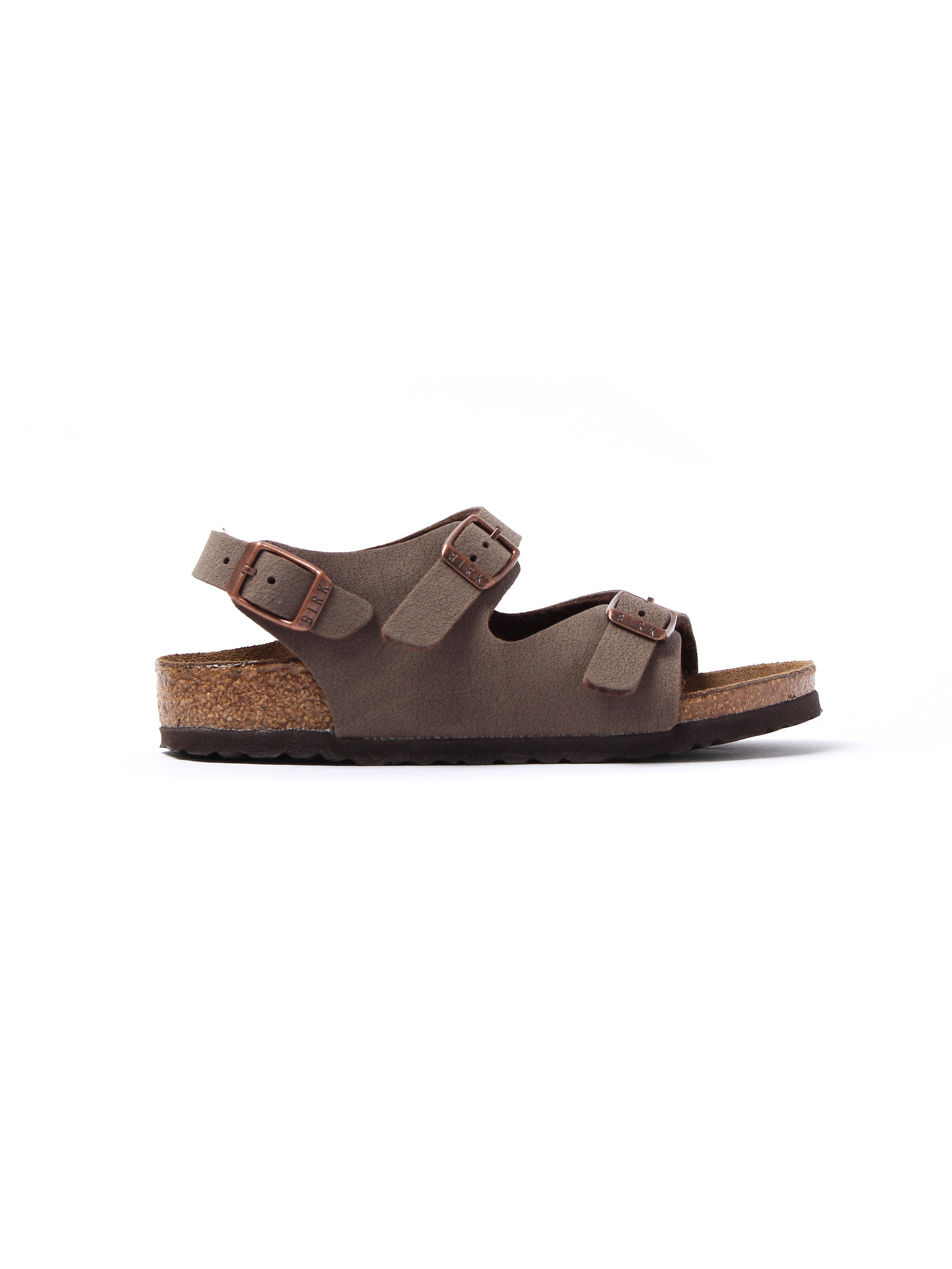Birkenstock Infant Roma Kinder Narrow Fit Sandals - Mocca Nubuck