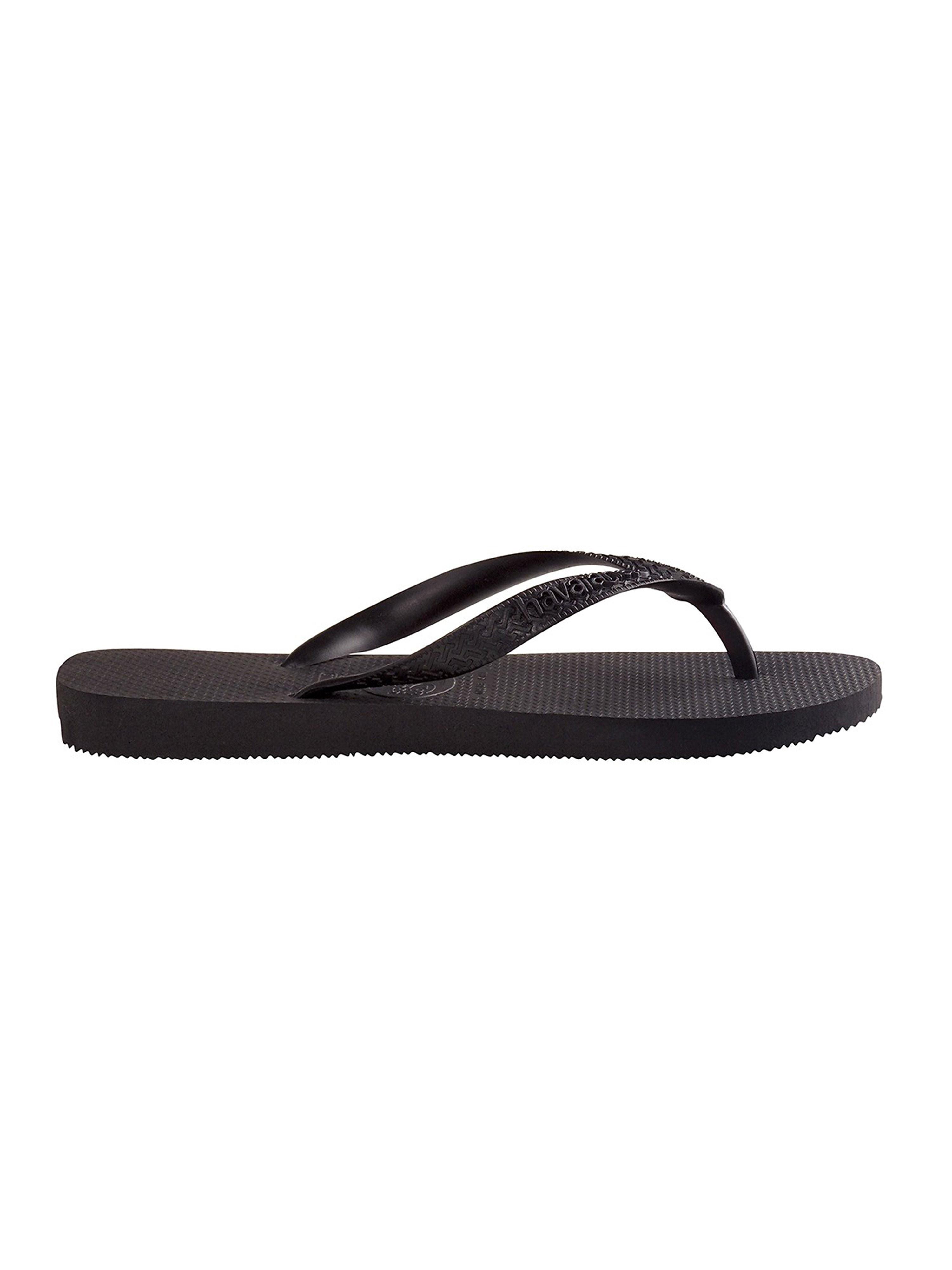 Havaianas Women's Top Flip Flops - Black